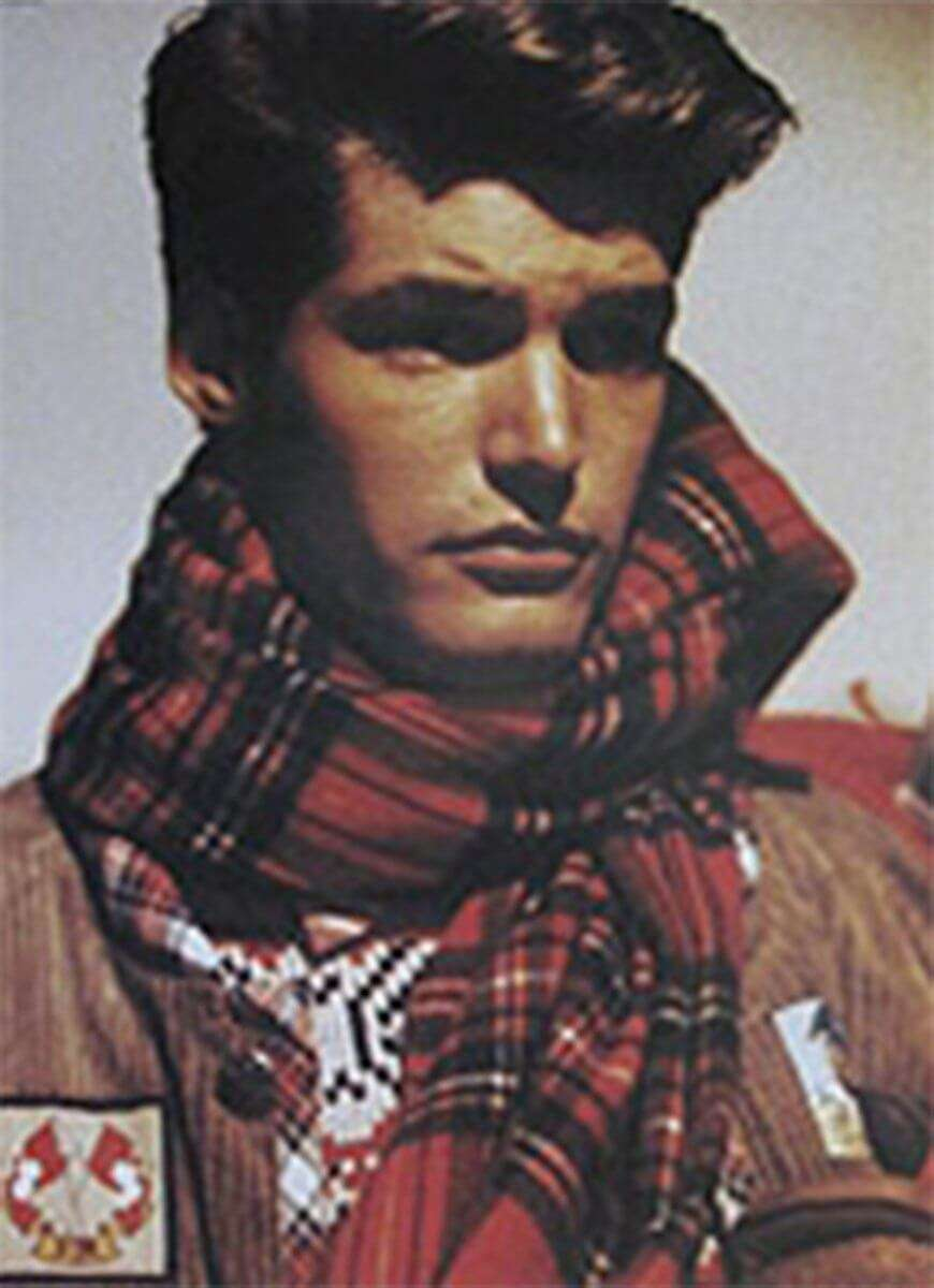 STUART MEMBERY FASHION - AUTUMN WINTER 1987 BR MEN