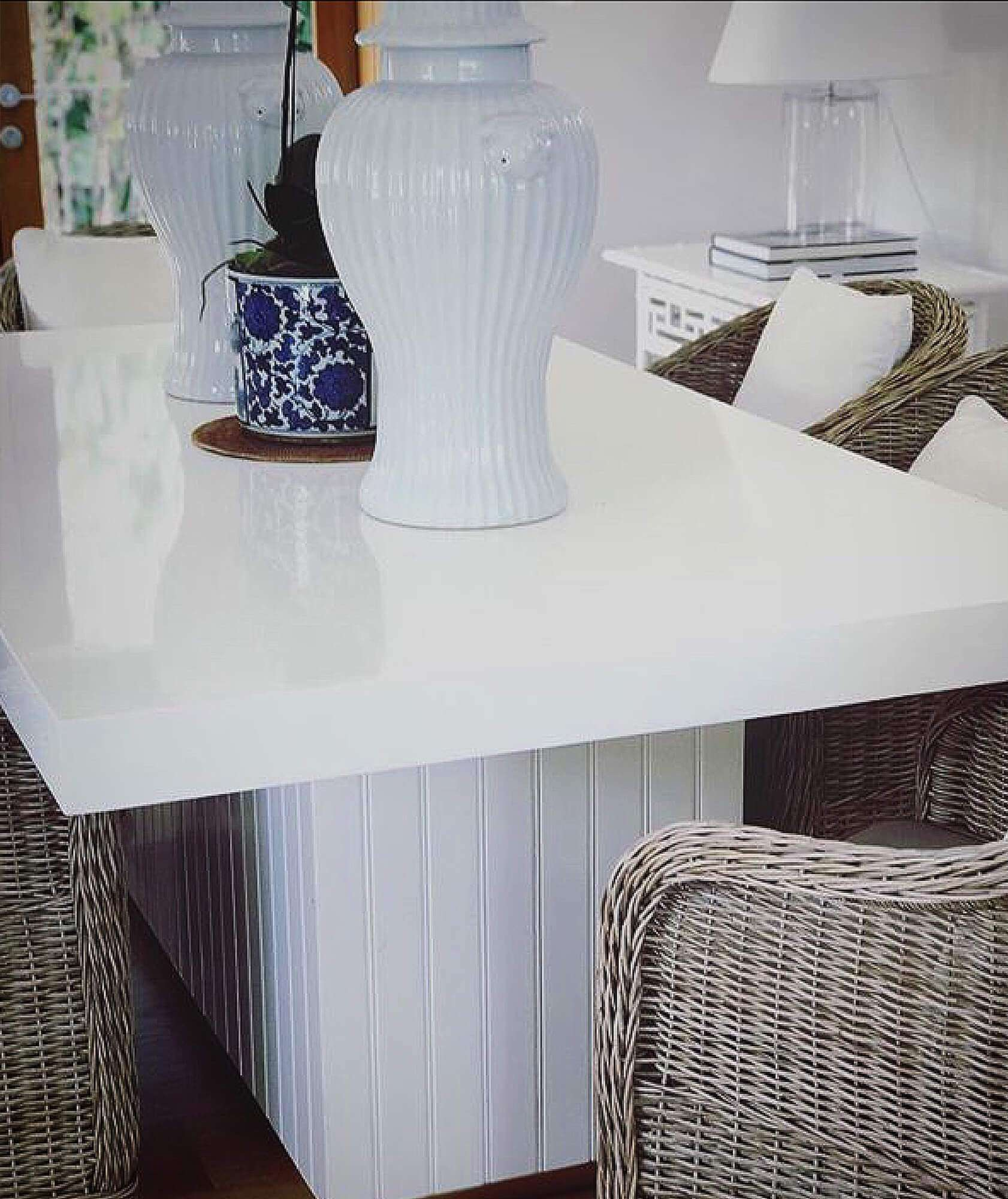 BOATHOUSE DINING TABLE RIGHTHAND - STUART MEMBERY HOME COLLECTION