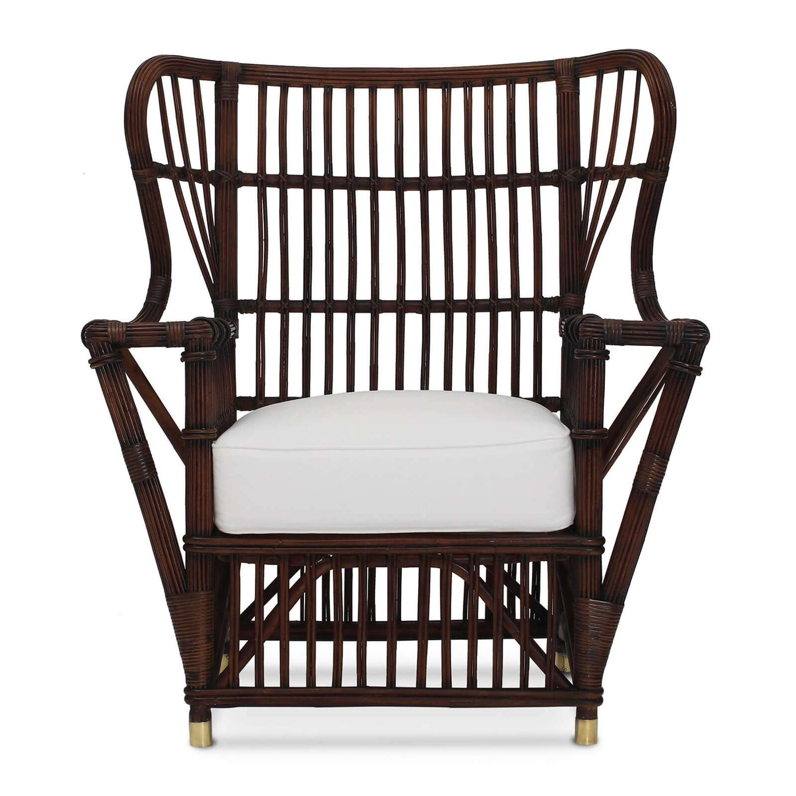 BUNGALOW WING CHAIR 2 - STUART MEMBERY HOME COLLECTION