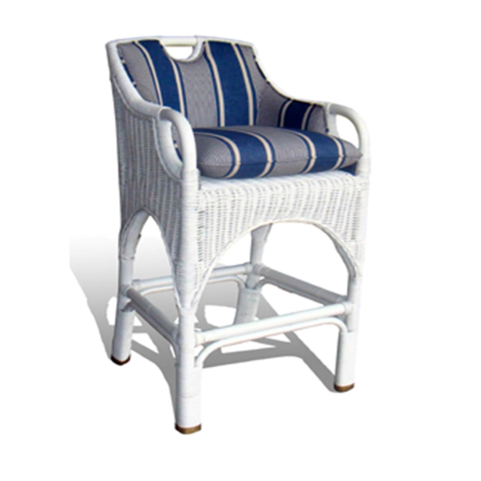 CABANA BAR STOOL - STUART MEMBERY HOME COLLECTION