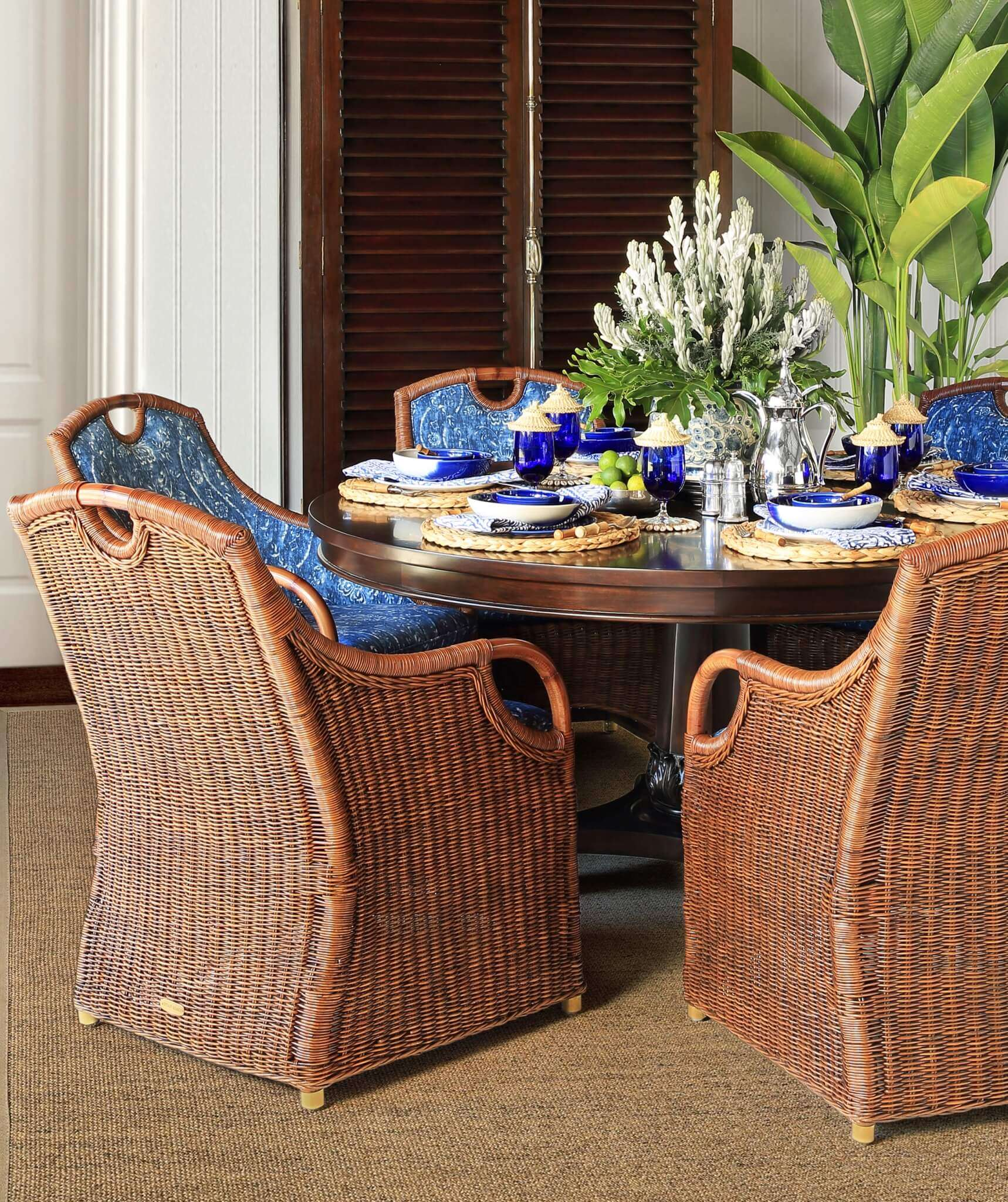 CABANA DINNIG CHAIRS 1 - STUART MEMBERY HOME COLLECTION