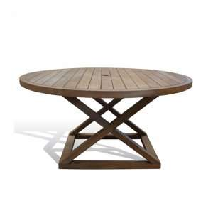CAMPAIGN OUTDOOR DINING TABLE - STUART MEMBERY HOME COLLECTION