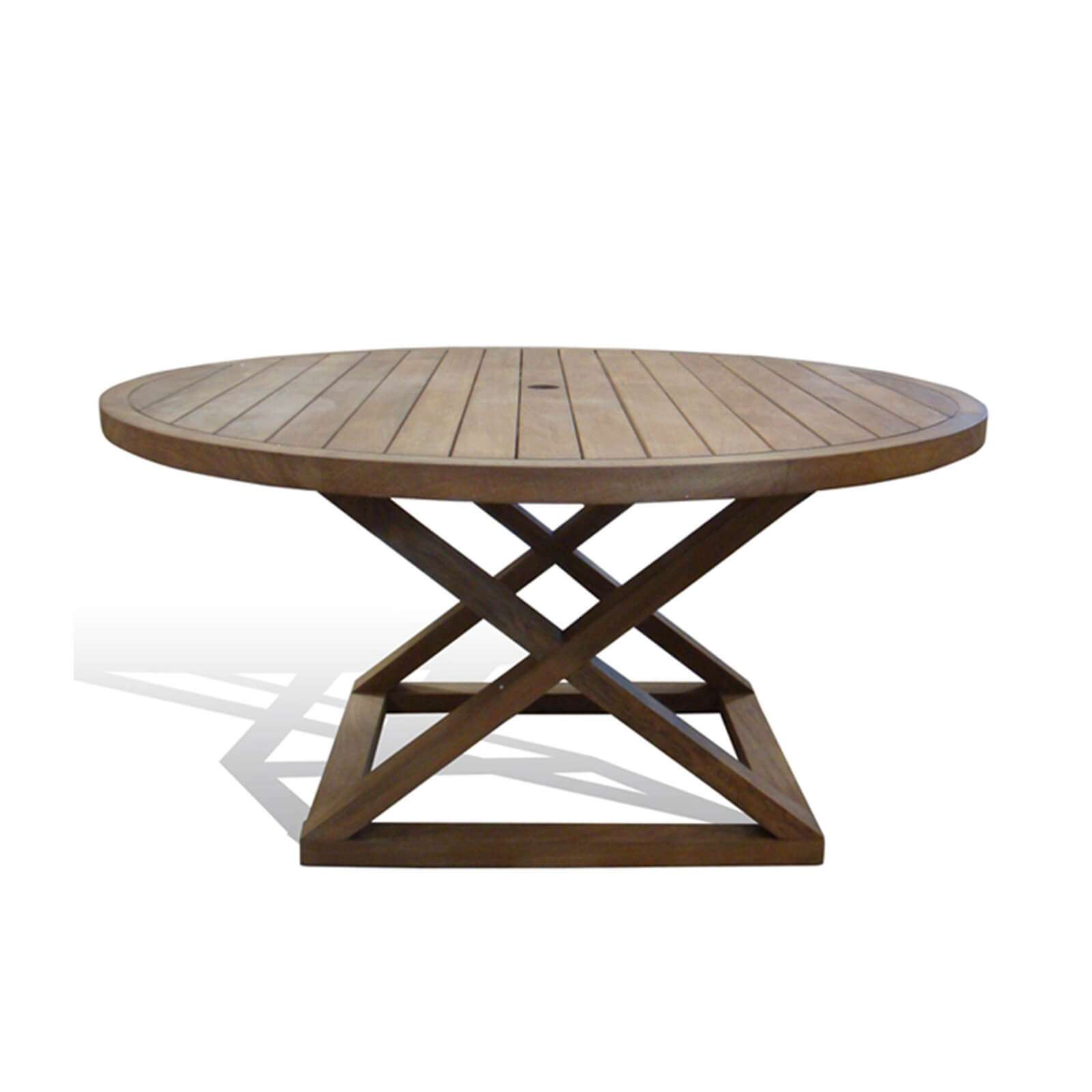 CAMPAIGN OUTDOOR DINING TABLE
