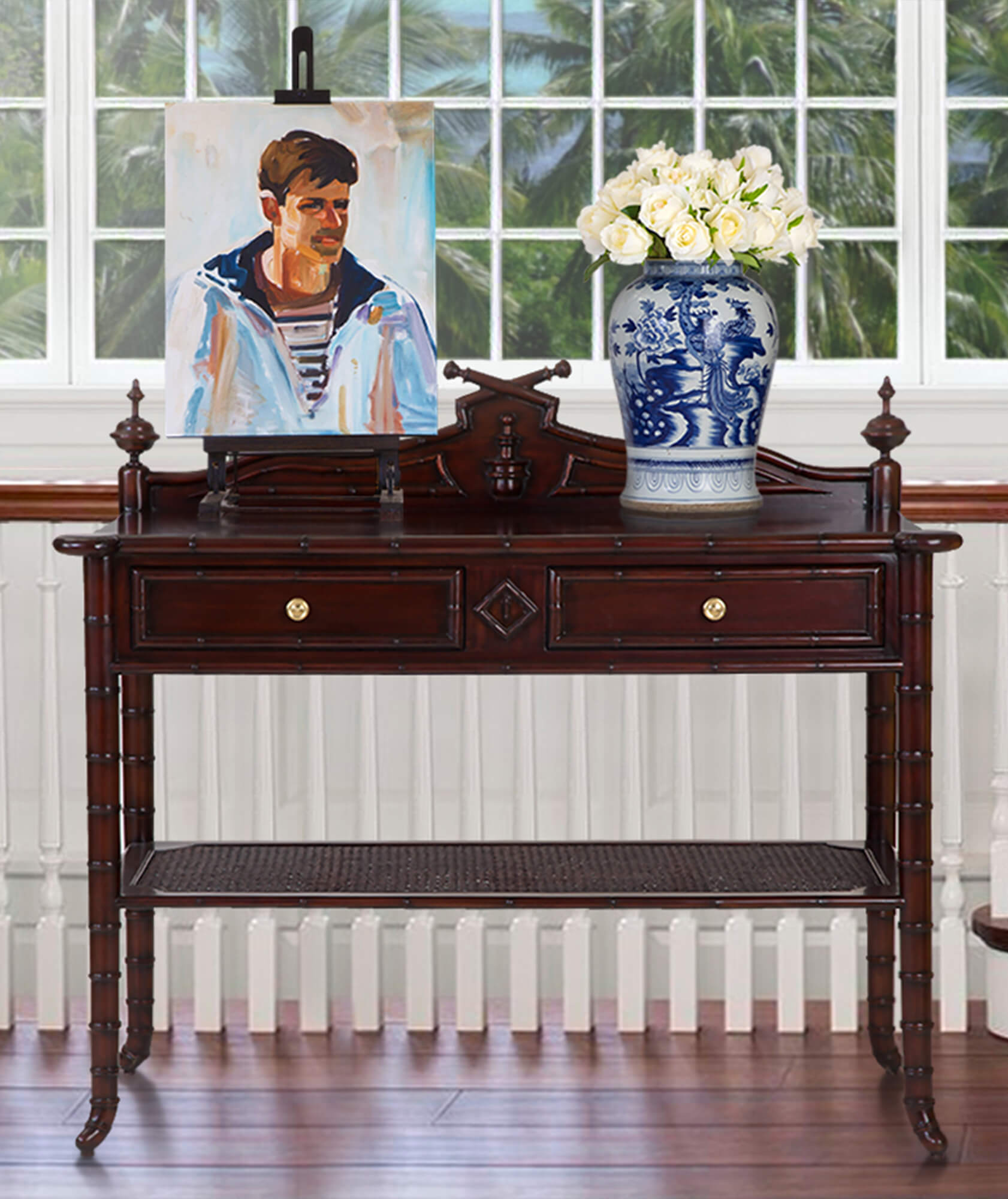 CAPE COLONY CONSOLE RIGHTHAND 22 - STUART MEMBERY HOME COLLECTION