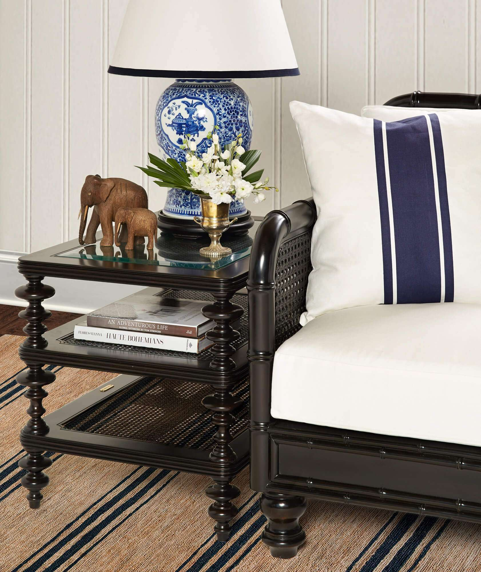 CAPE COLONY END TABLE - STUART MEMBERY HOME COLLECTION