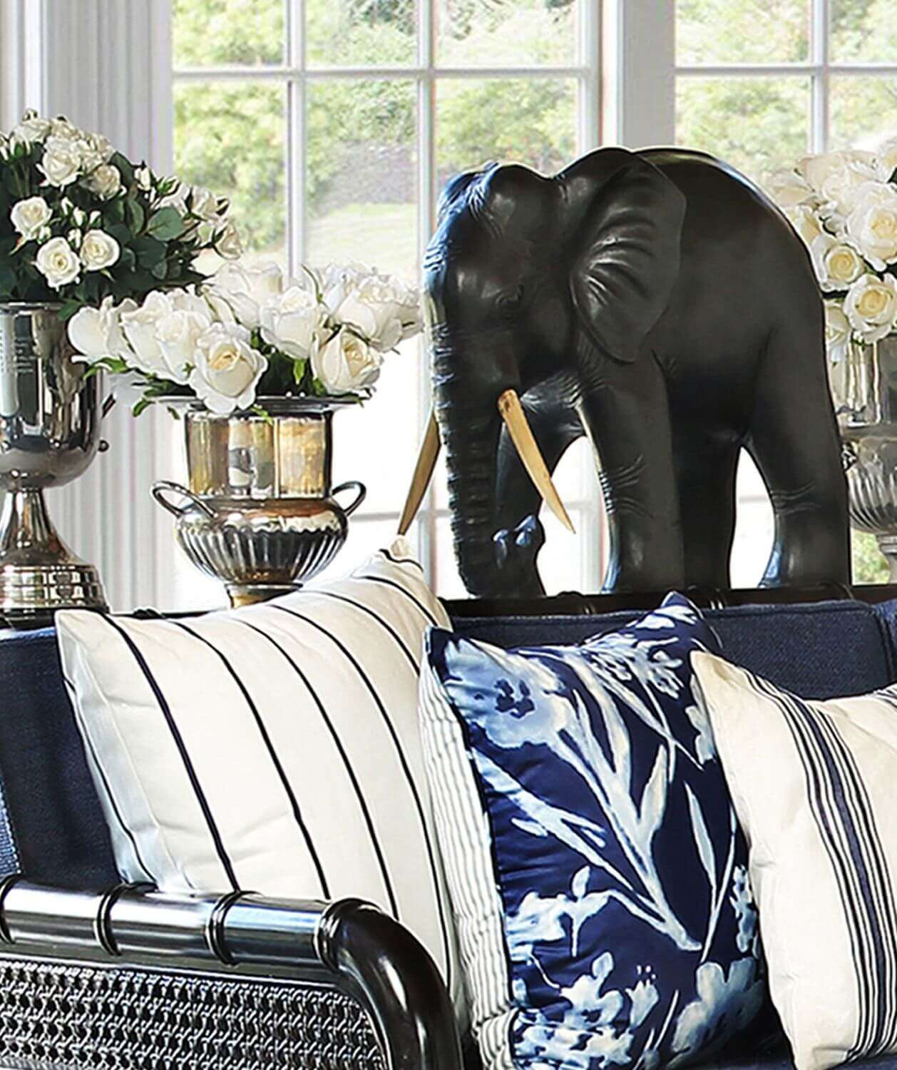 COLONIAL ELEPHANT - STUART MEMBERY HOME COLLECTION