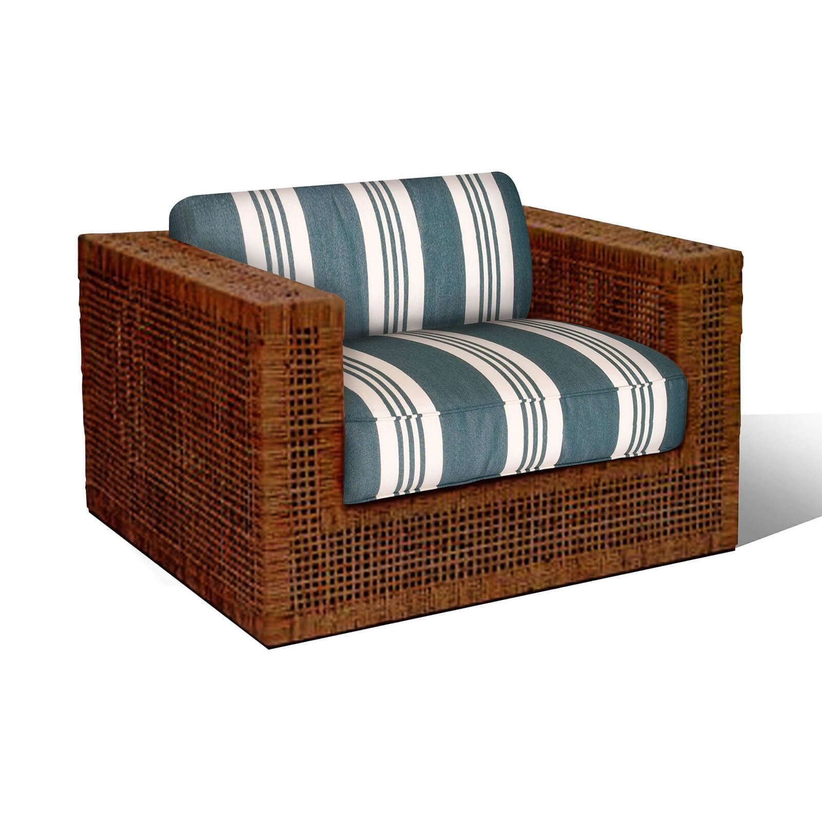 HARBOR ISLAND CLUB CHAIR 1 - STUART MEMBERY HOME COLLECTION