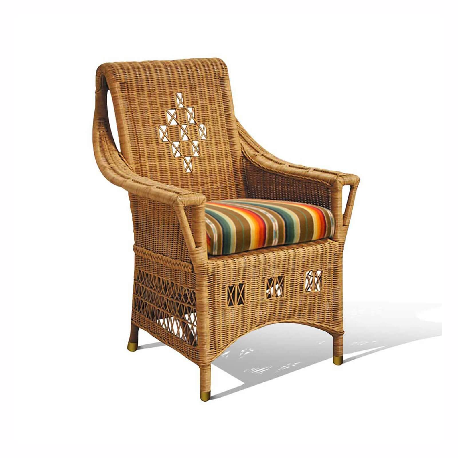 HUDSON BAY ARM CHAIR - STUART MEMBERY HOME COLLECTION