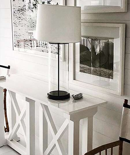 console table, white console table, hamptons console,
