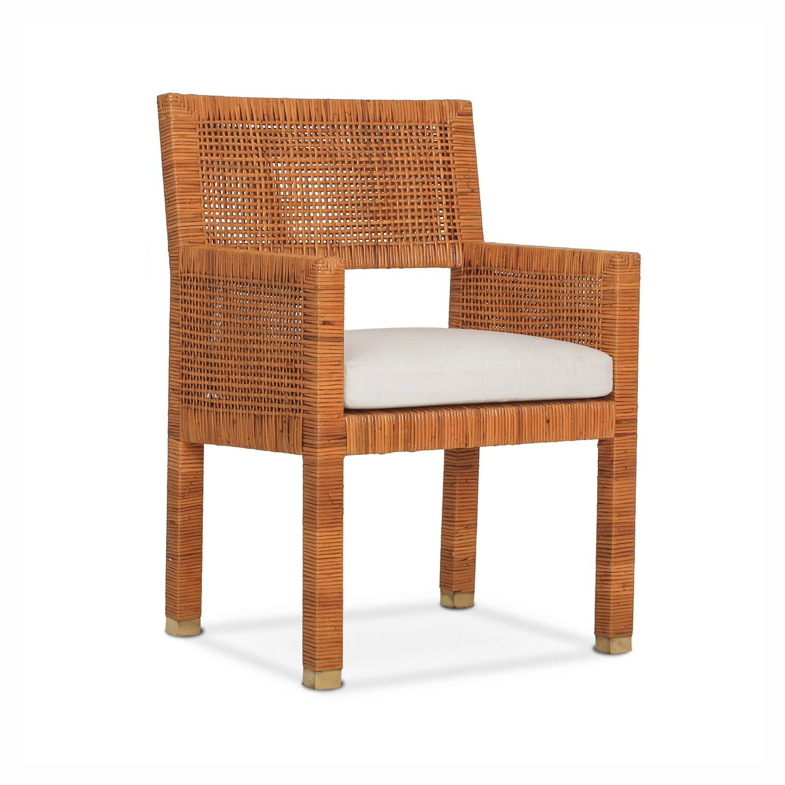 INDIGO COAST ARM CHAIR - STUART MEMBERY HOME COLLECTION