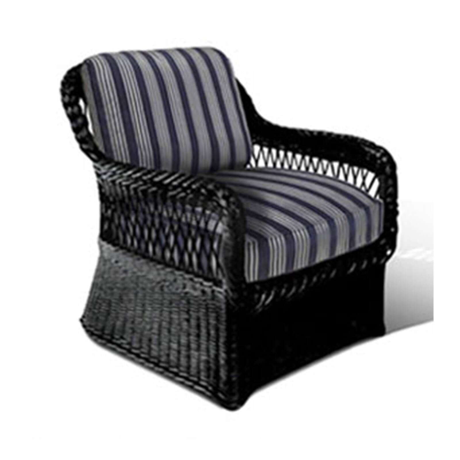 LAKE HOUSE WICKER CLUB CHAIR 2 - STUART MEMBERY HOME COLLECTION