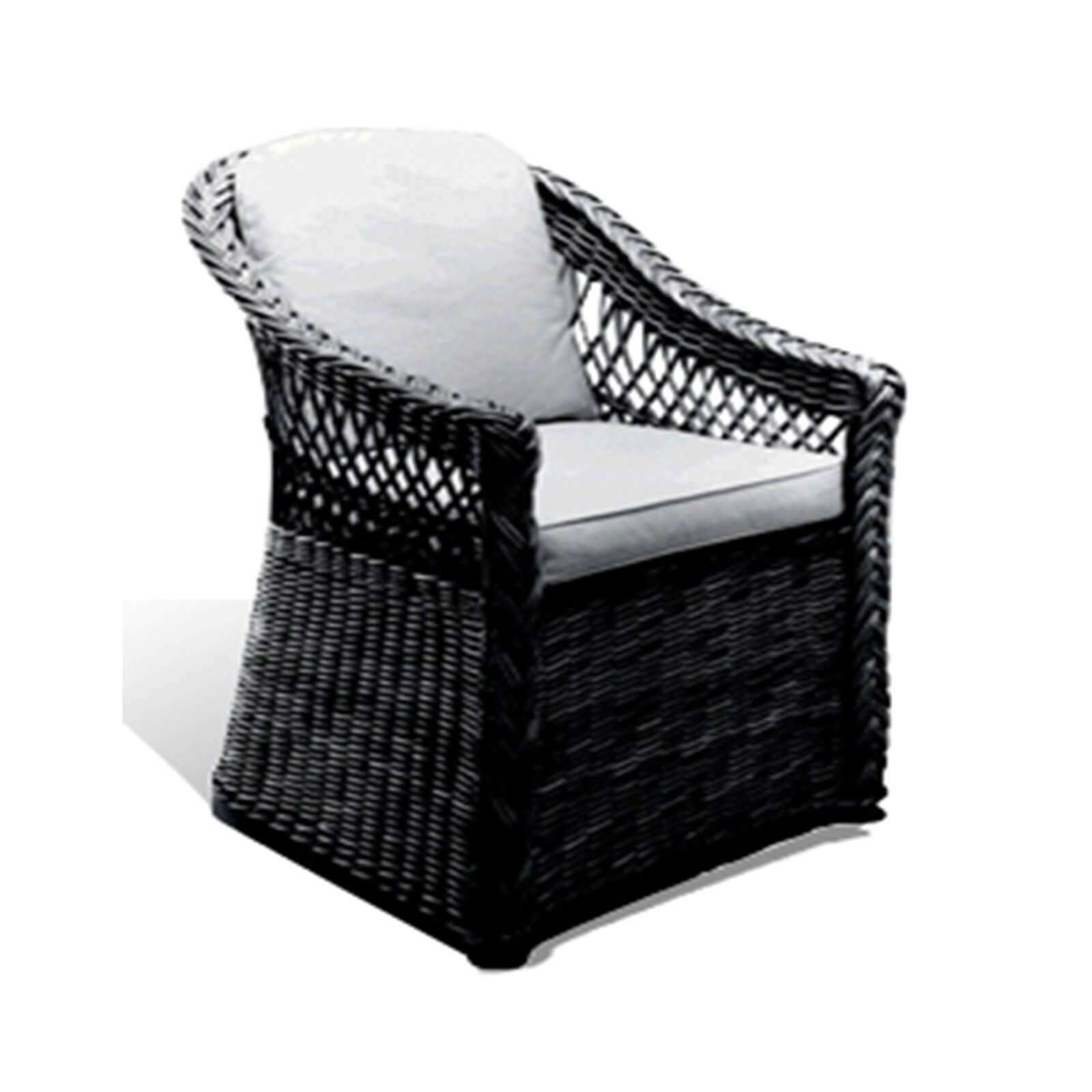 LAKE HOUSE WICKER DINING CHAIR - STUART MEMBERY HOME COLLECTION