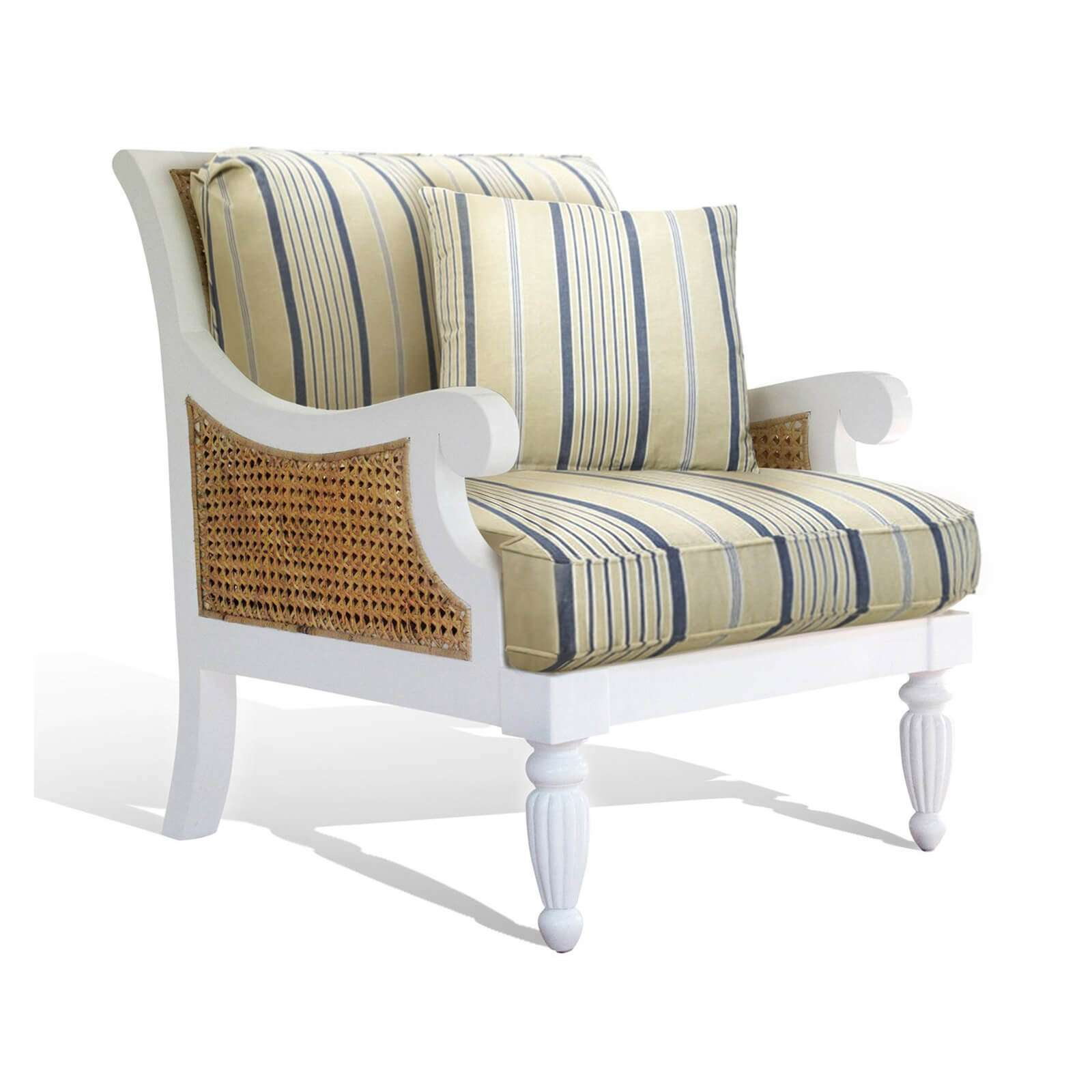MADRAS ARM CHAIR 01 - STUART MEMBERY HOME COLLECTION