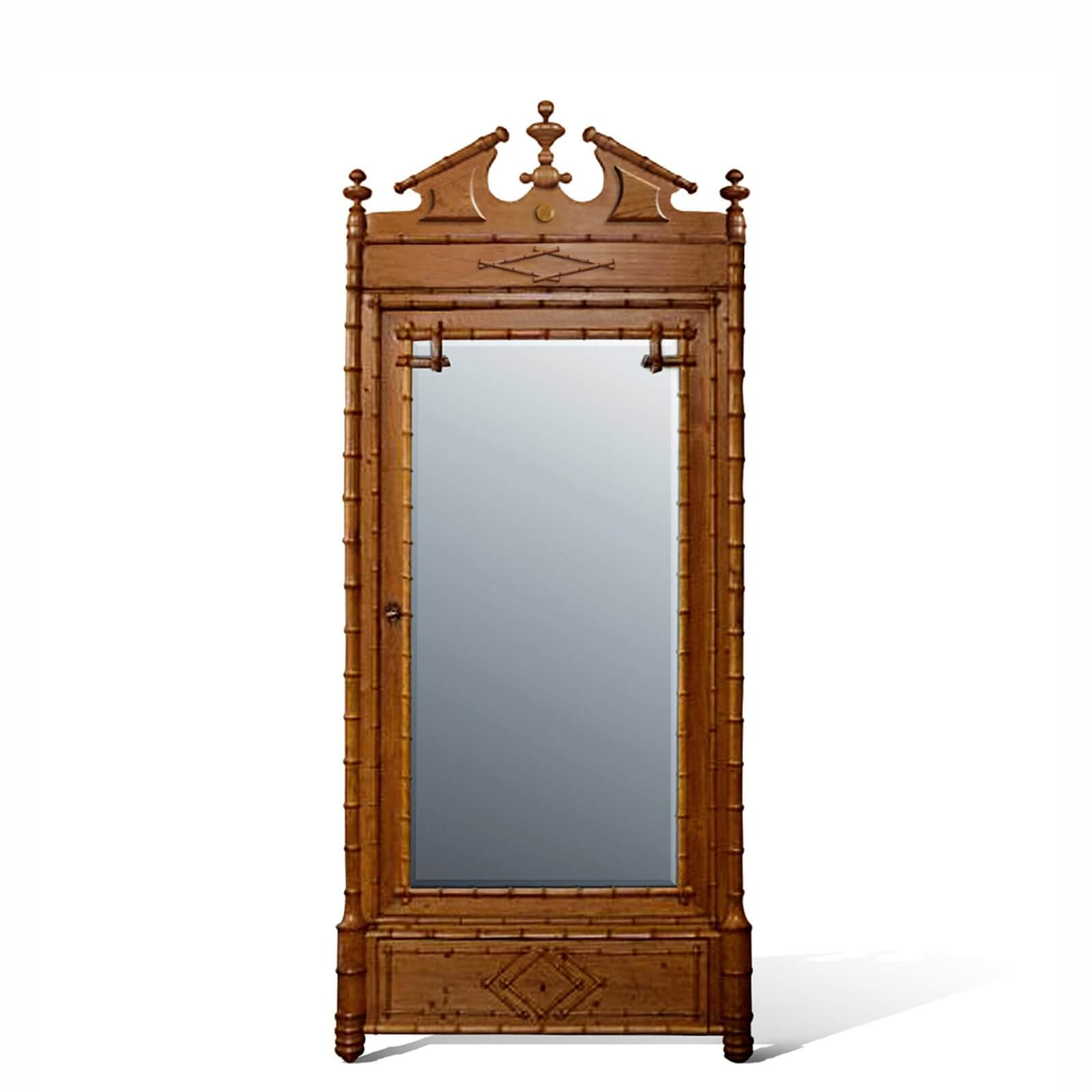 MANDALAY ARMOIRE - STUART MEMBERY HOME COLLECTION