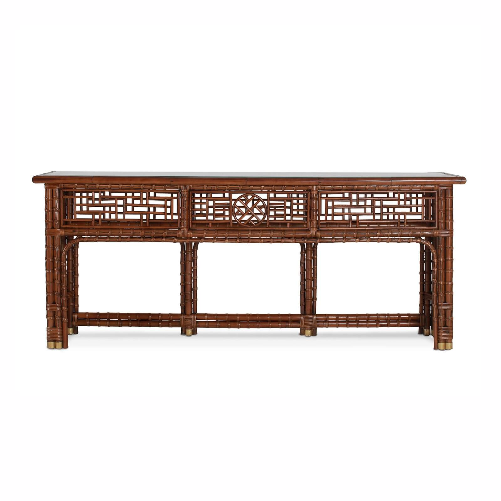 MANDALAY CONSOLE - STUART MEMBERY HOME COLLECTION