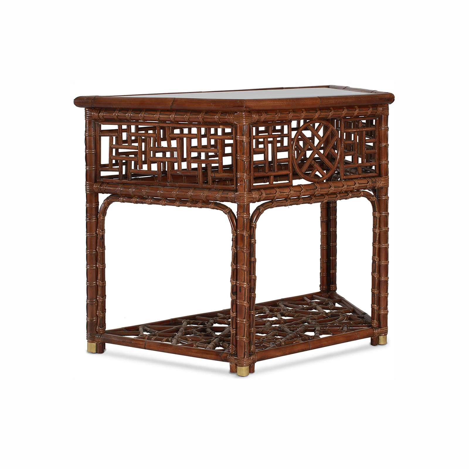 MANDALAY DEMI LUNE CONSOLE 2 - STUART MEMBERY HOME COLLECTION