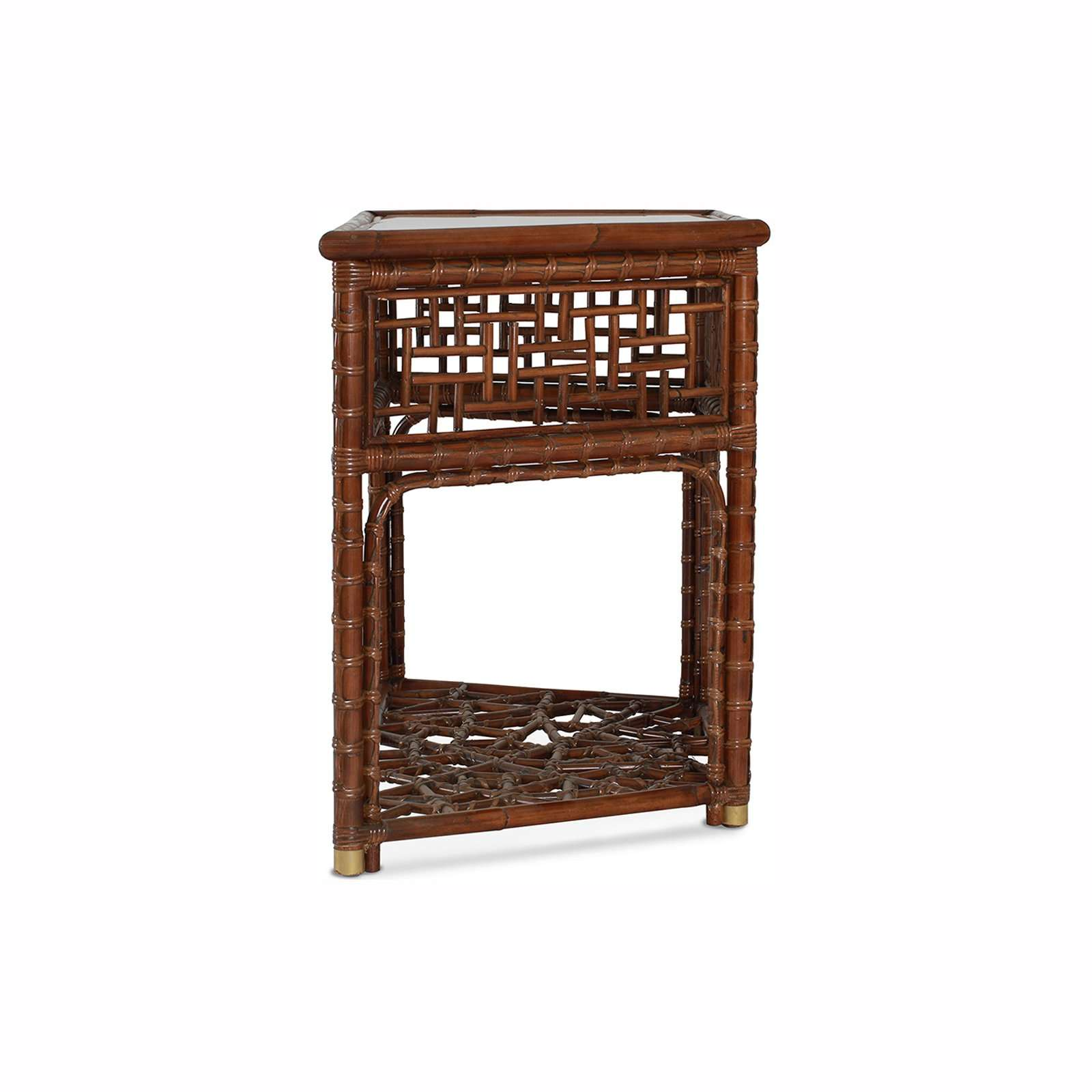 MANDALAY DEMI LUNE CONSOLE 3 - STUART MEMBERY HOME COLLECTION