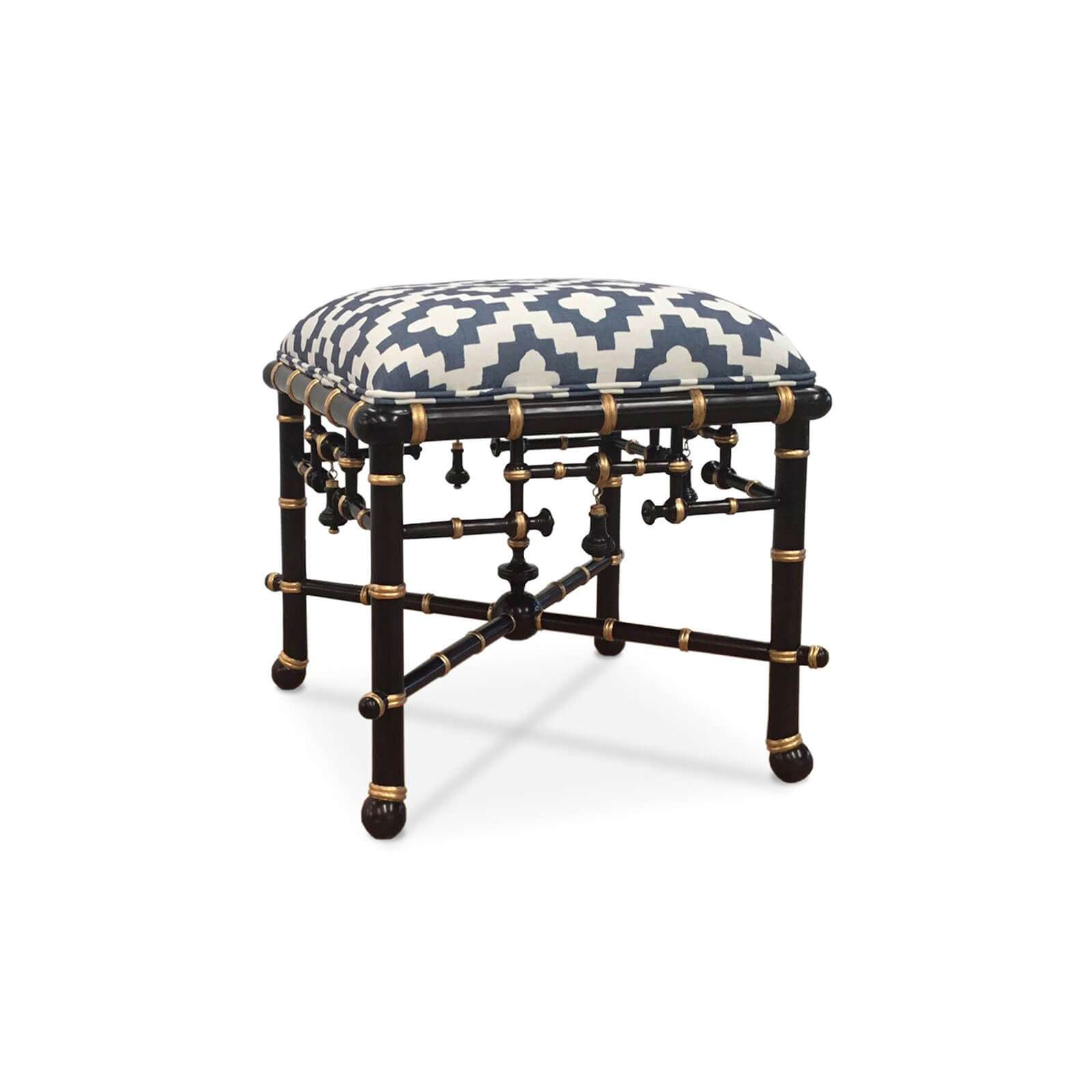 MANDARIN OTTOMAN CUSTOM 1 - STUART MEMBERY HOME COLLECTION