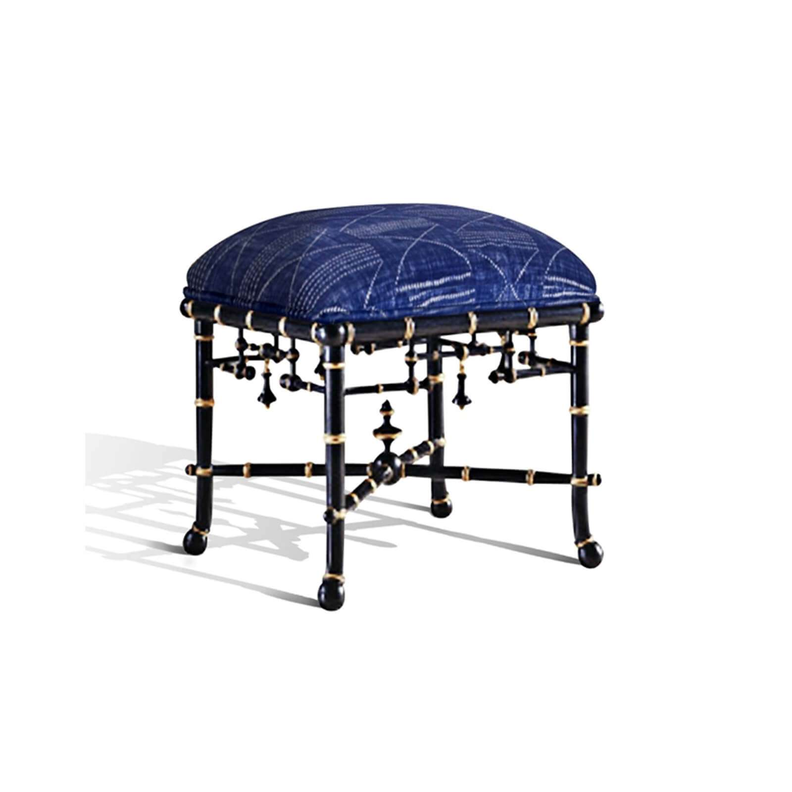 MANDARIN OTTOMAN CUSTOM 2 - STUART MEMBERY HOME COLLECTION