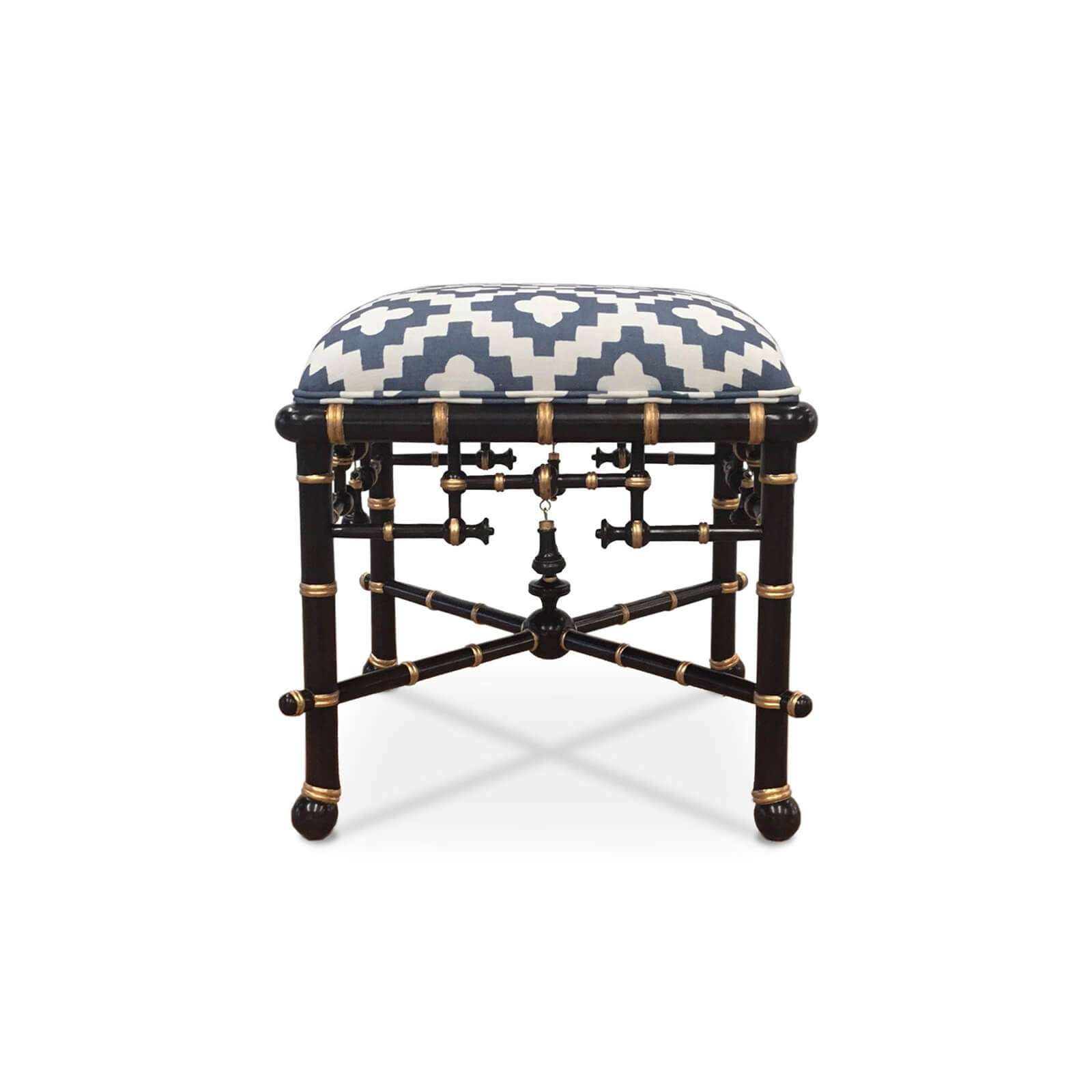 MANDARIN OTTOMAN CUSTOM 3 - STUART MEMBERY HOME COLLECTION