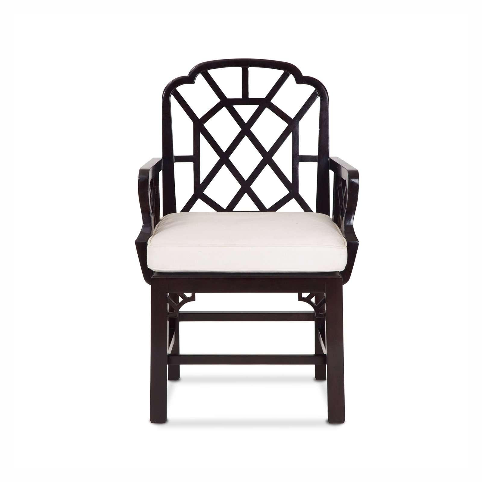 PAGODA ARM CHAIR FRONT - STUART MEMBERY HOME COLLECTION