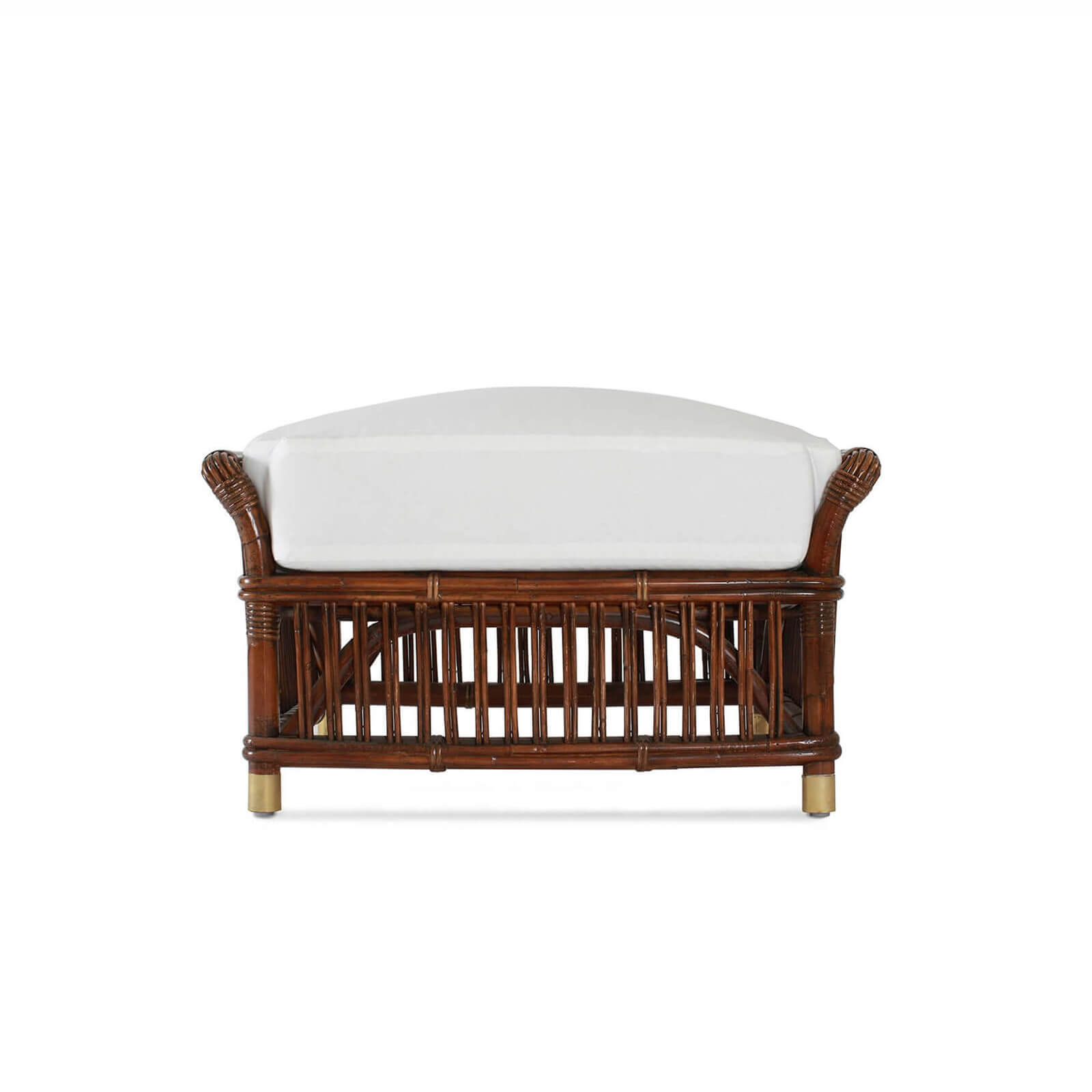 PARROT CAY OTTOMAN 2 - STUART MEMBERY HOME COLLECTION