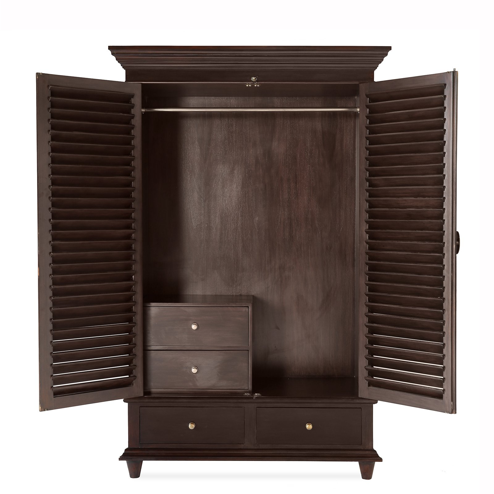 PLANTATION ARMOIRE 2 - STUART MEMBERY HOME COLLECTION