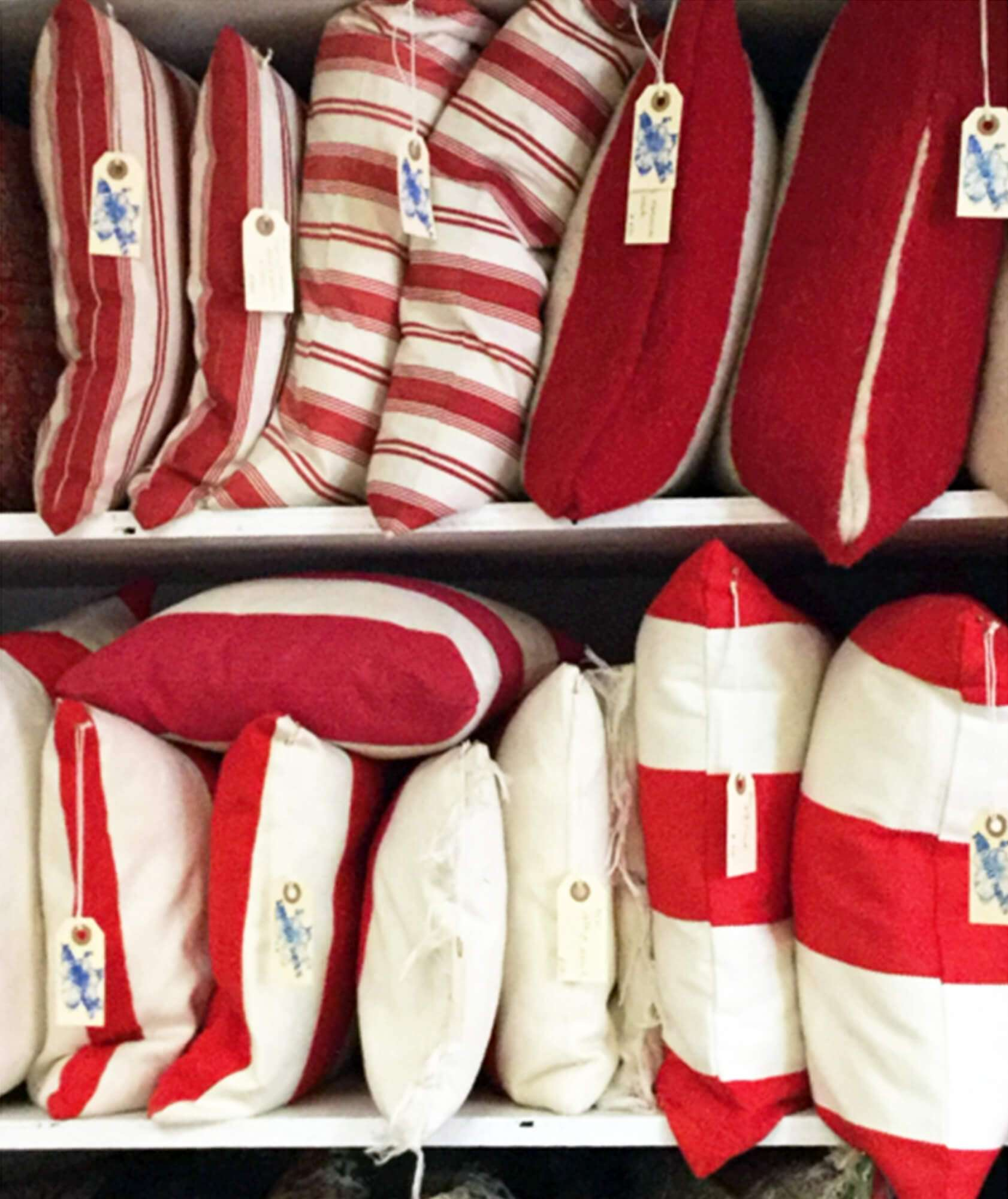 stripe cushions, stripe pillows