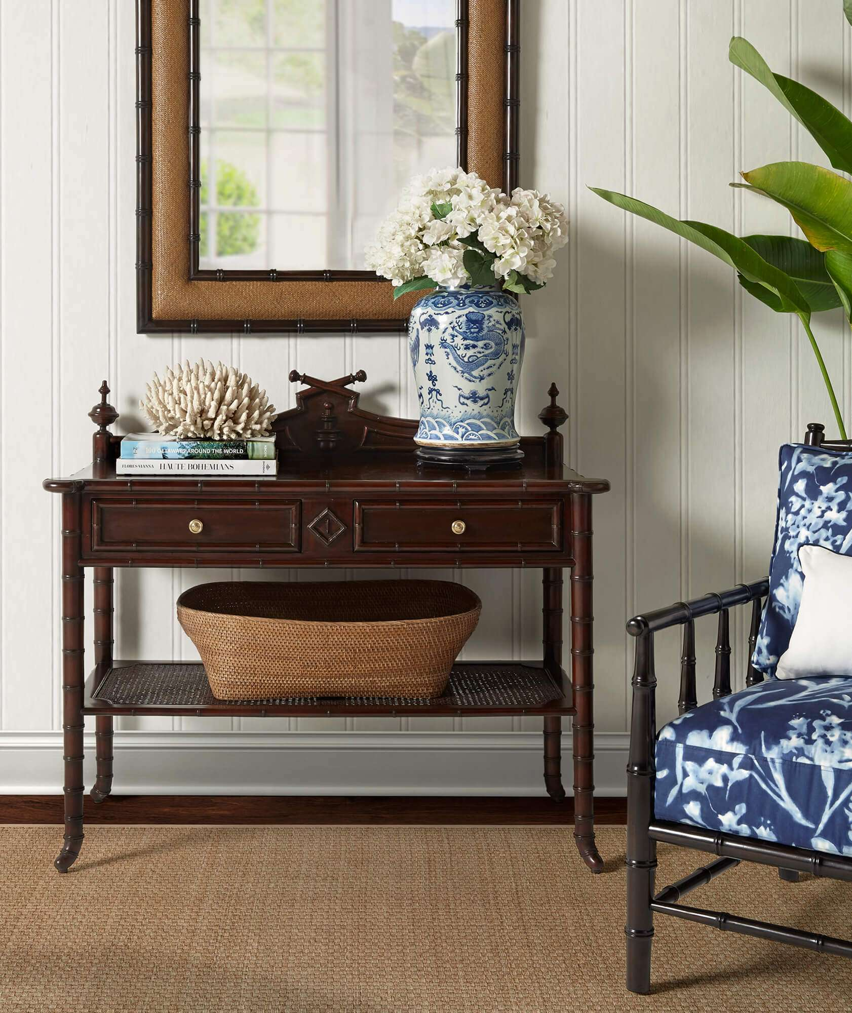 HAND CAPE COLONY CONSOLE - STUART MEMBERY HOME COLLECTION
