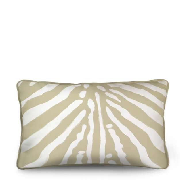 zebra pillow, zebra cushion. beige
