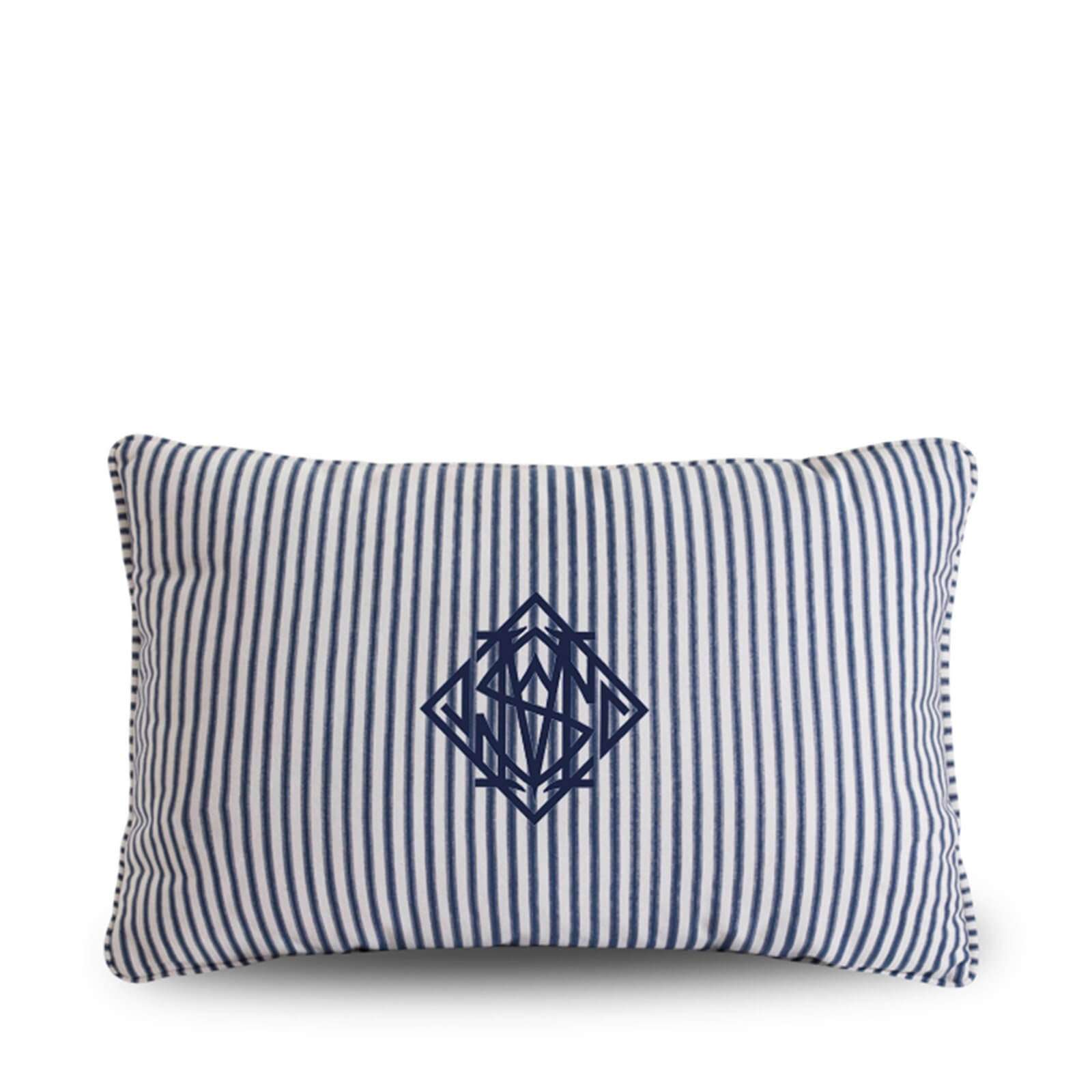 TICKING MONOGRAM LUMBAR