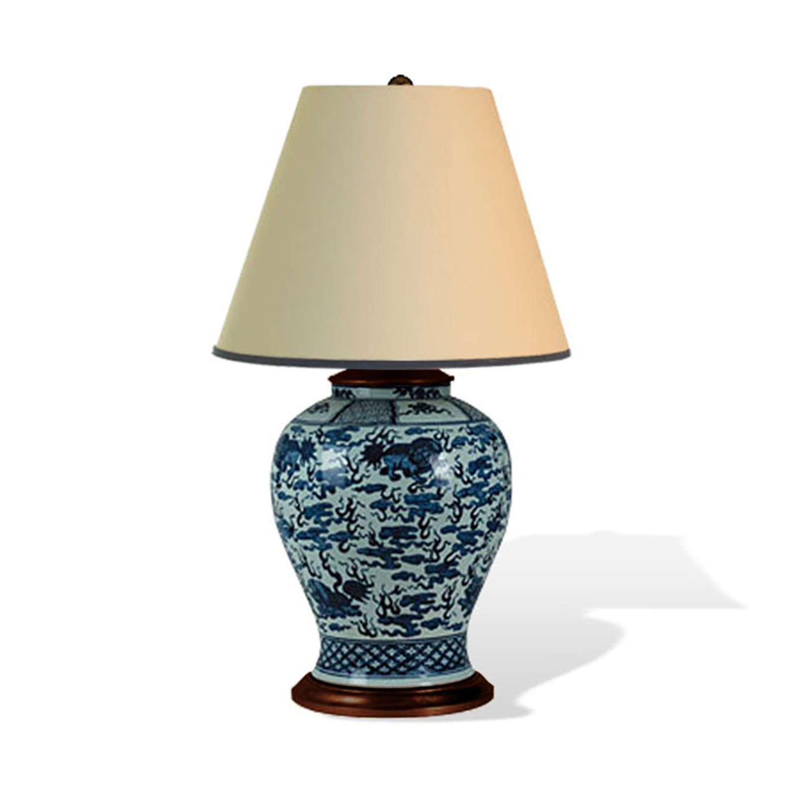 BLUE DRAGON TABLE LAMP