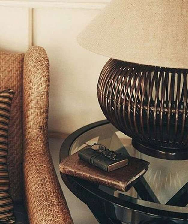 MOLOKAI TABLE LAMP / WALNUT - STUART MEMBERY HOME COLLECTION