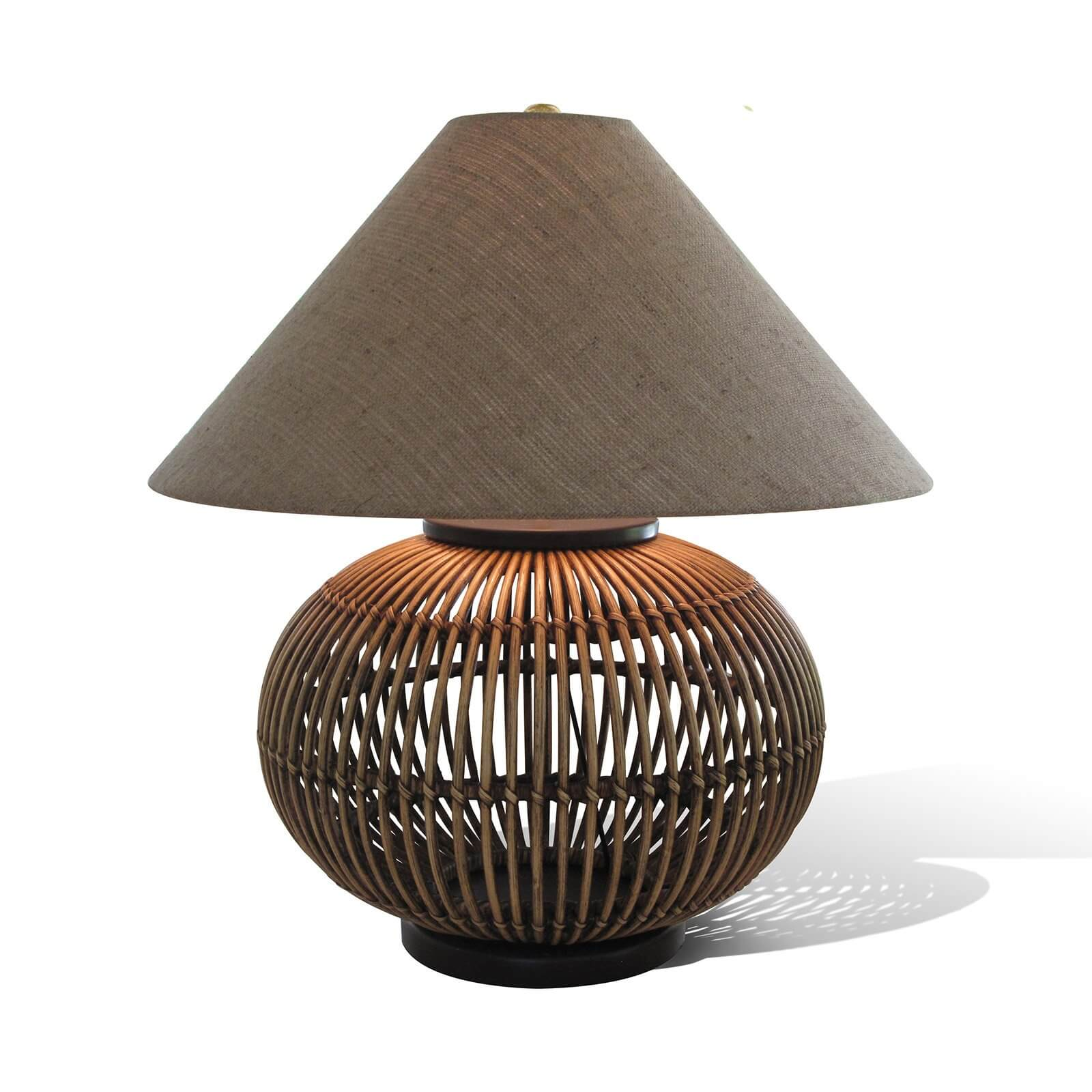 MOLOKAI TABLE LAMP / DARK BROWN