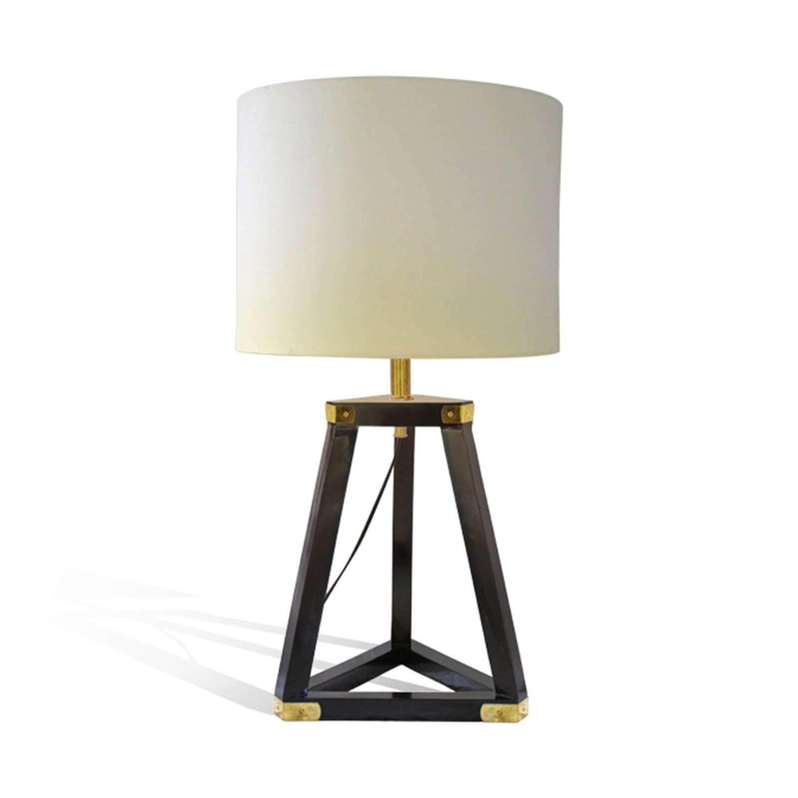PENTHOUSE TABLE LAMP / DARK BROWN