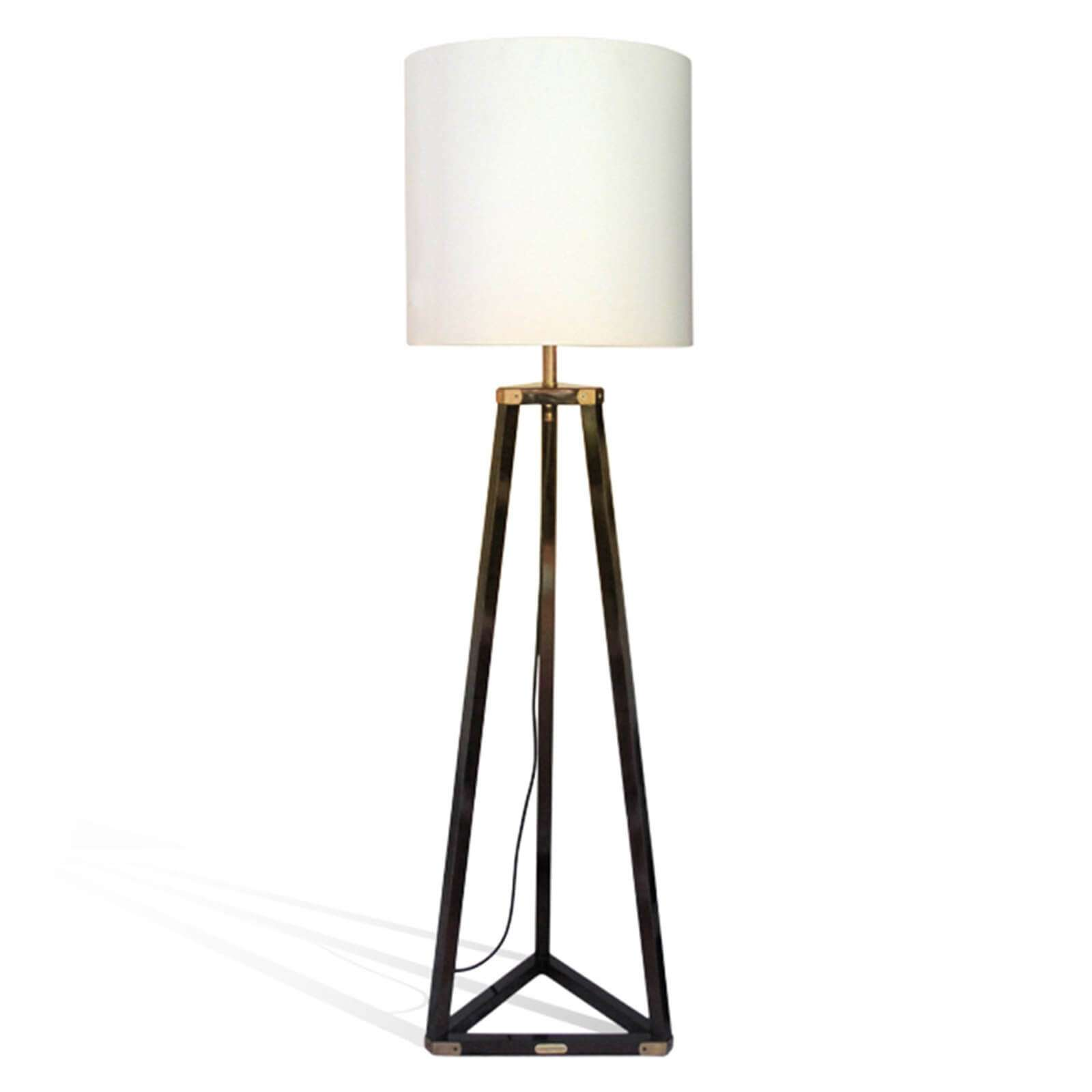 PENTHOUSE FLOOR LAMP / DARK BROWN