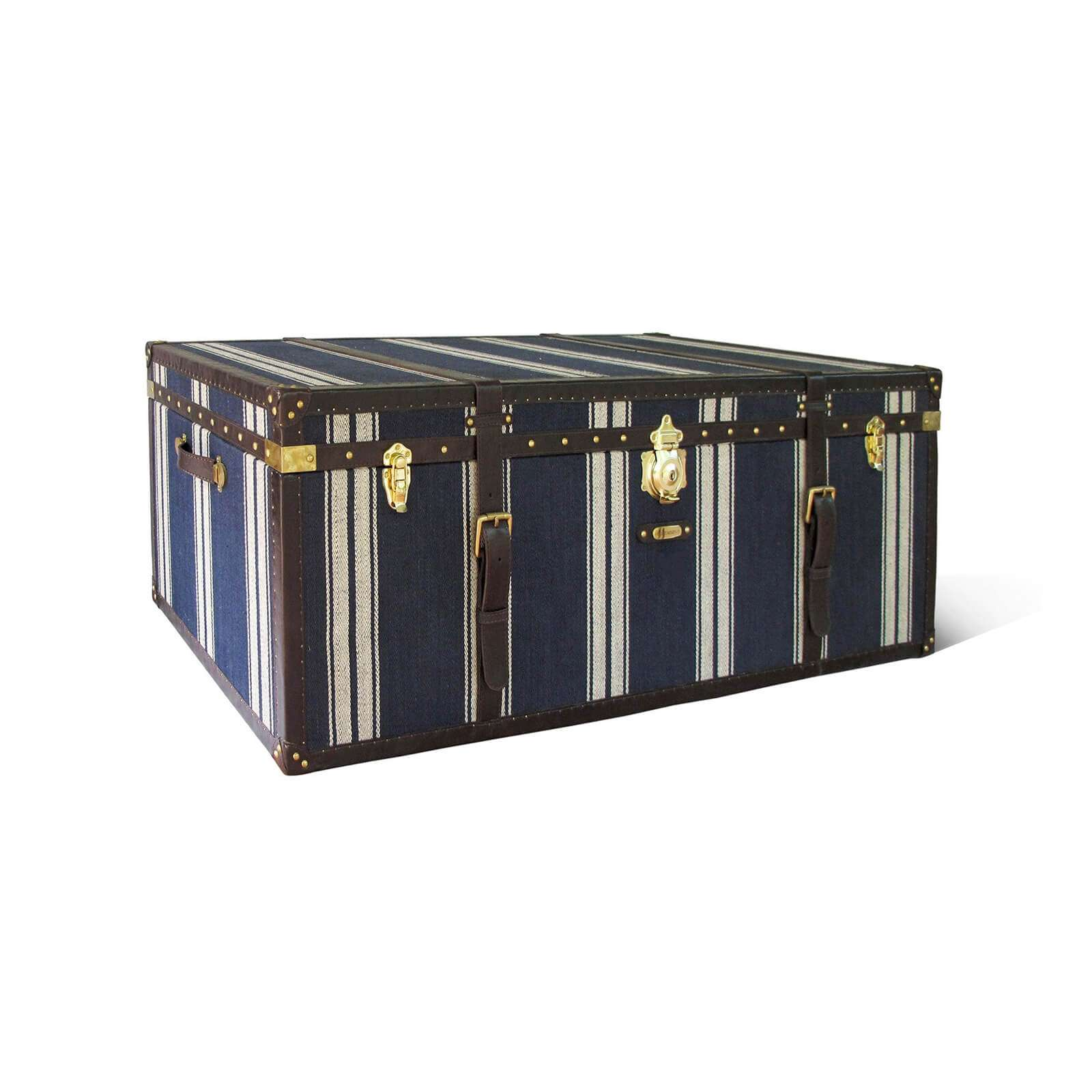 STEAMER TRUNK CUSTOM - STUART MEMBERY HOME COLLECTION