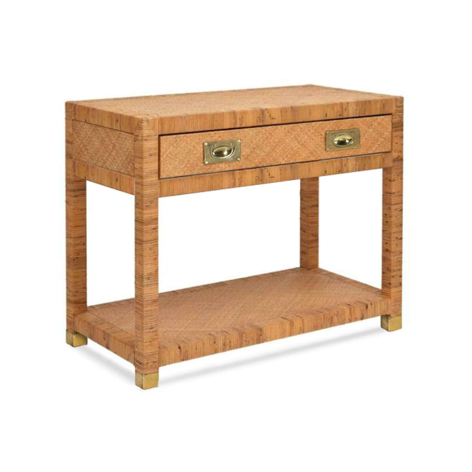TB 536 INDIGO COAST BEDSIDE TABLE PERSPECTIVE (2) - STUART MEMBERY HOME COLLECTION