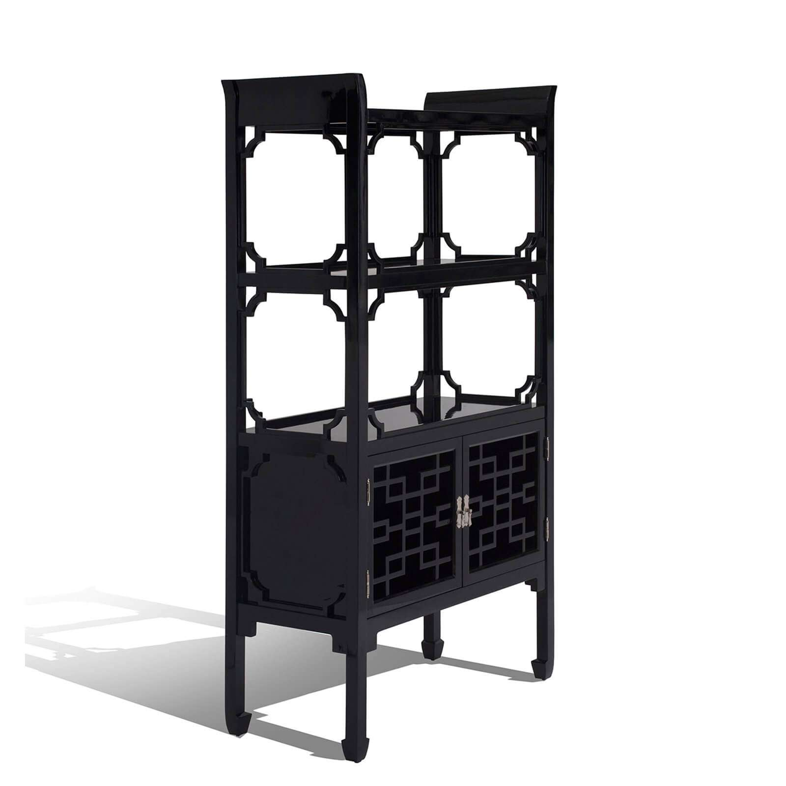 THE DYNASTY ETAGERE 3 - STUART MEMBERY HOME COLLECTION
