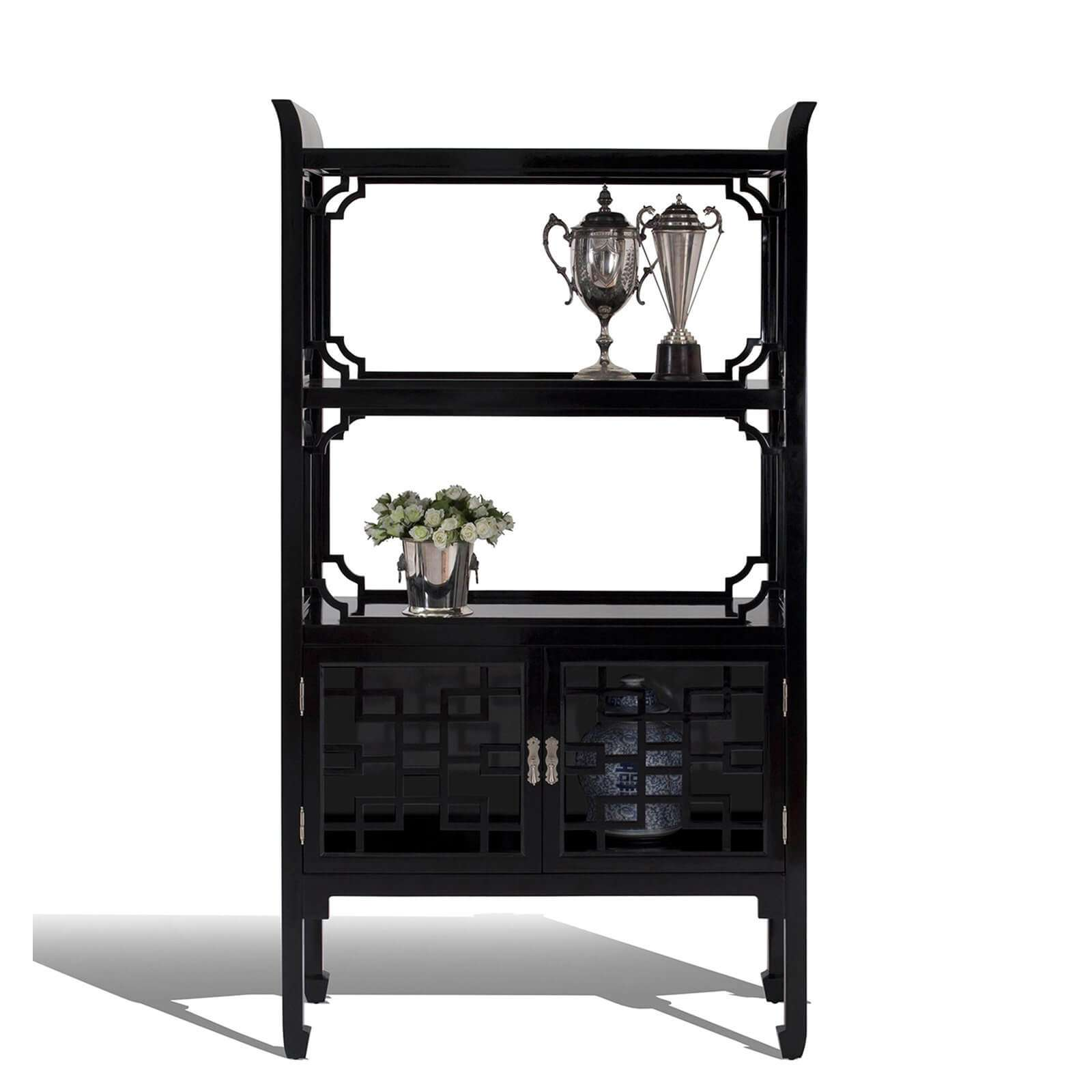THE DYNASTY ETAGERE - STUART MEMBERY HOME COLLECTION