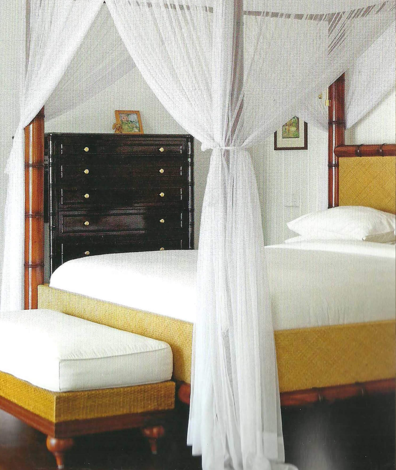 TRADE WINDS BED RIGHTHAND 5 - STUART MEMBERY HOME COLLECTION
