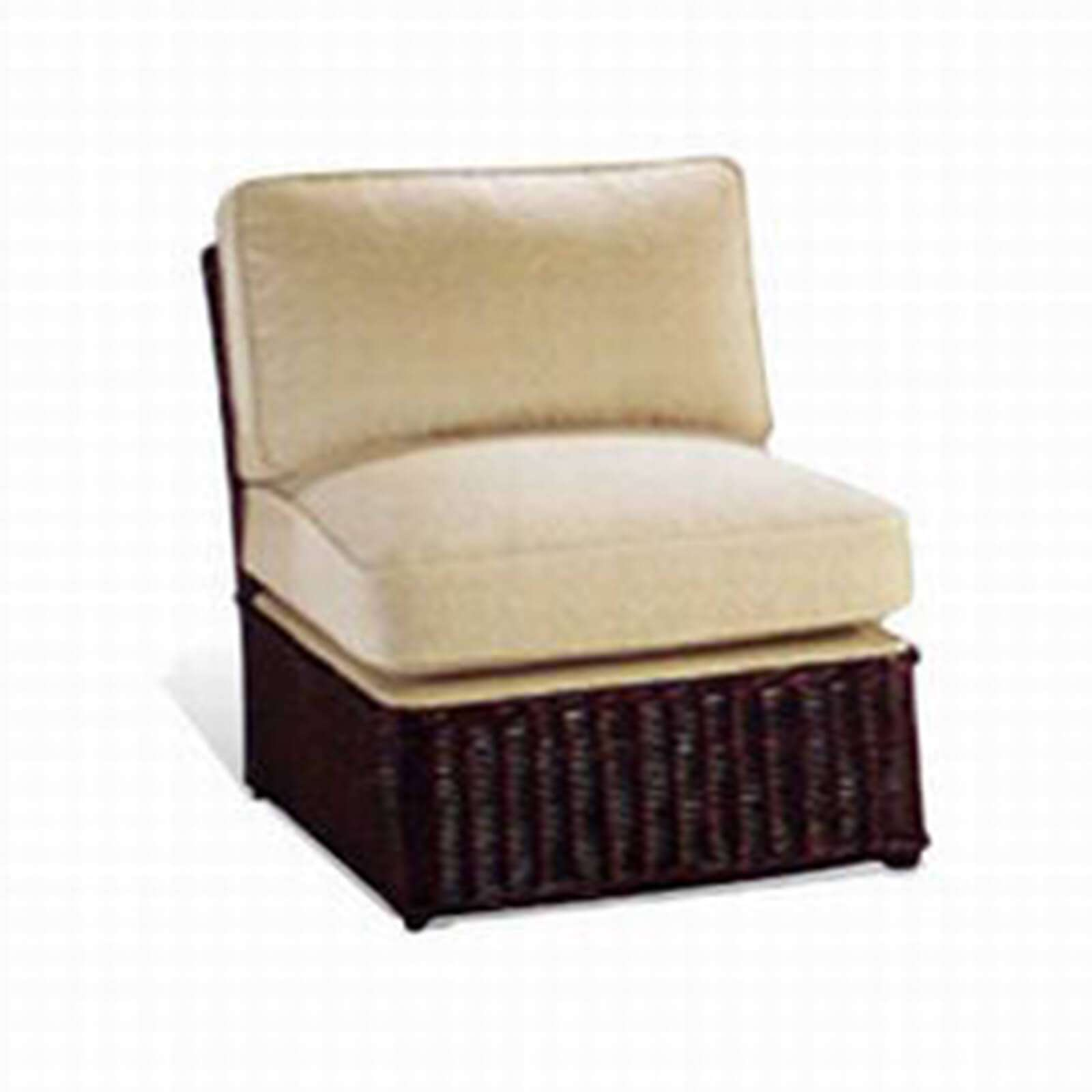 Wicker Slipper Chair Stuart Membery Home Collection