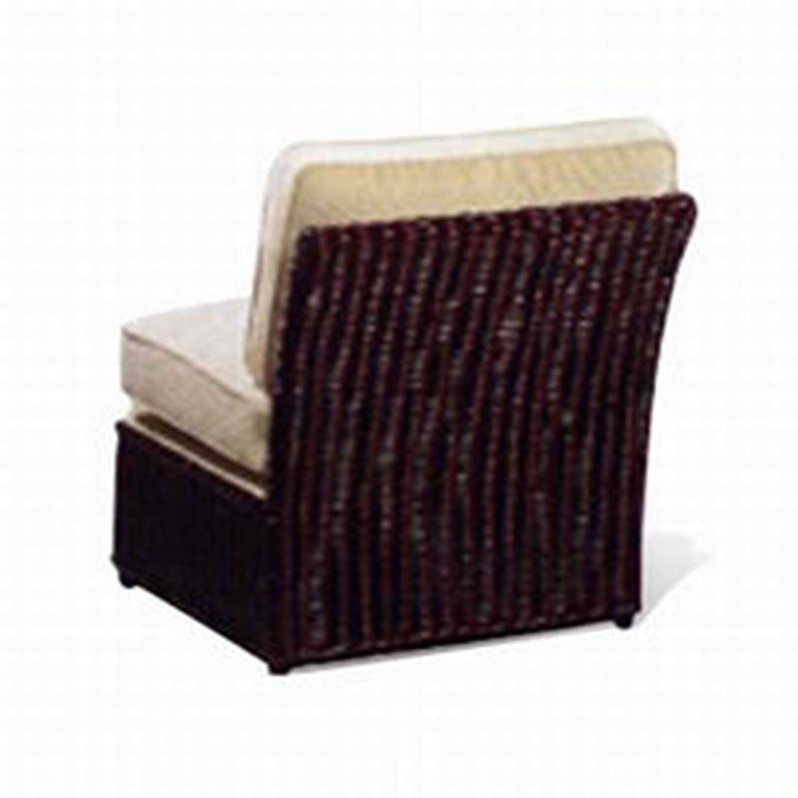 WICKER SLIPPER CHAIR 3 - STUART MEMBERY HOME COLLECTION