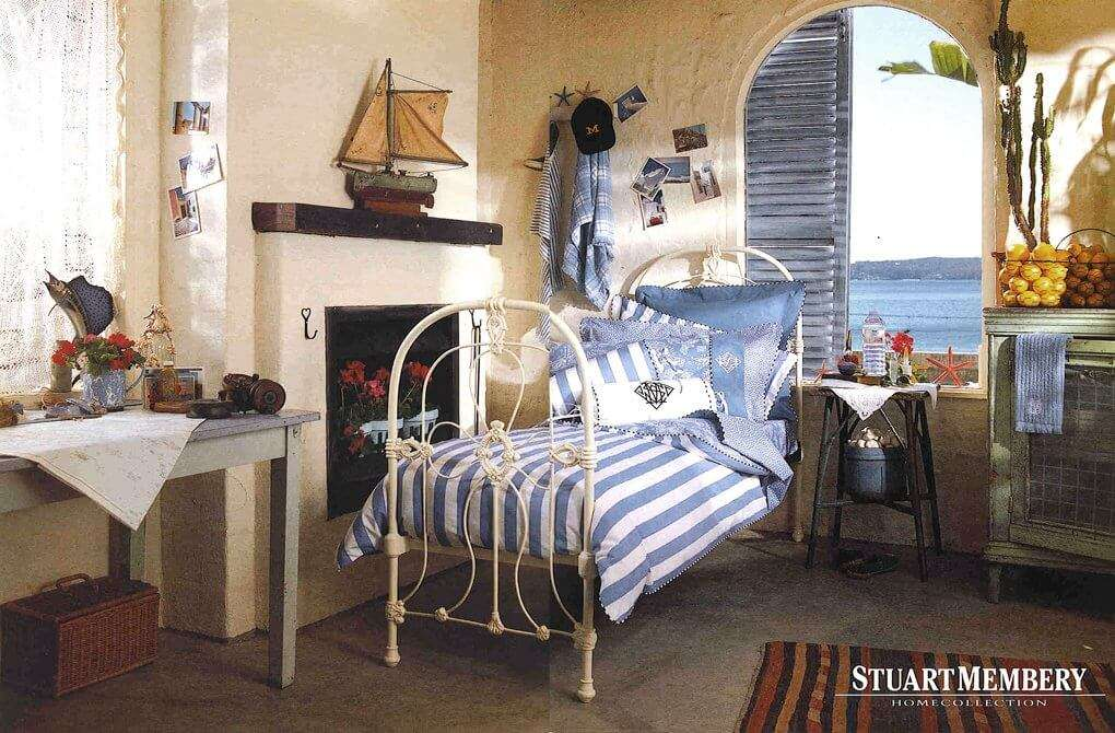 BED & BATH BED 2 - STUART MEMBERY HOME COLLECTION