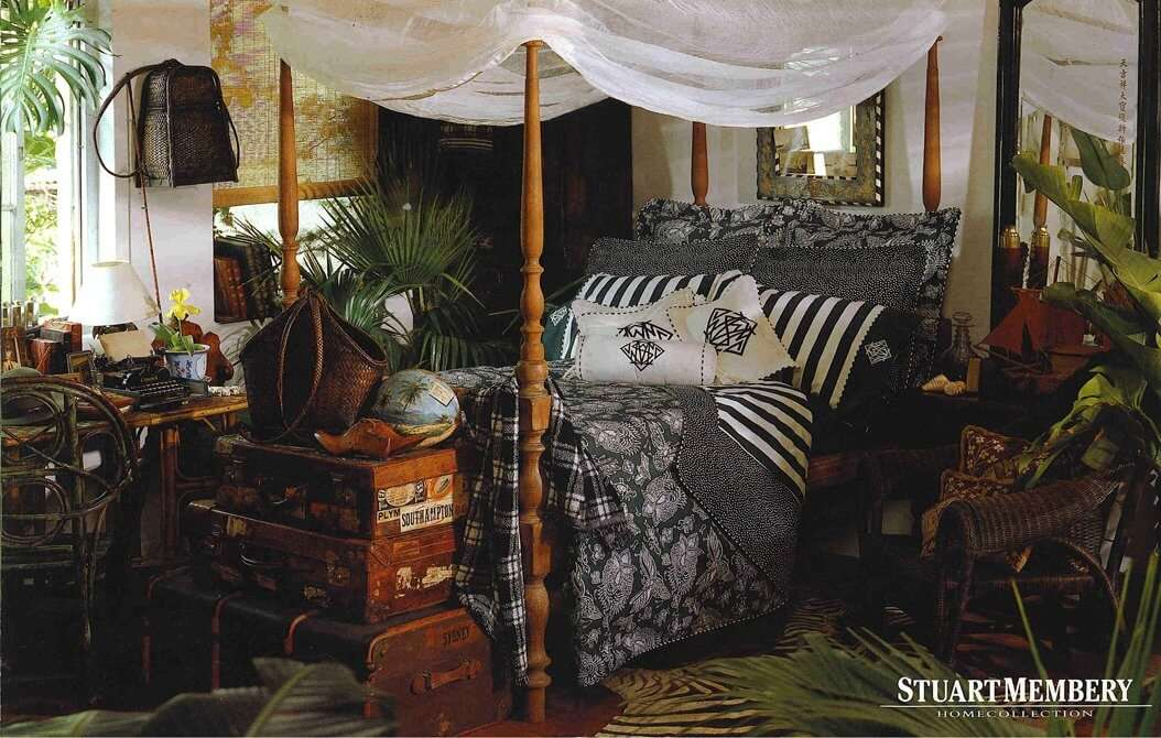 BED & BATH BED 3 - STUART MEMBERY HOME COLLECTION