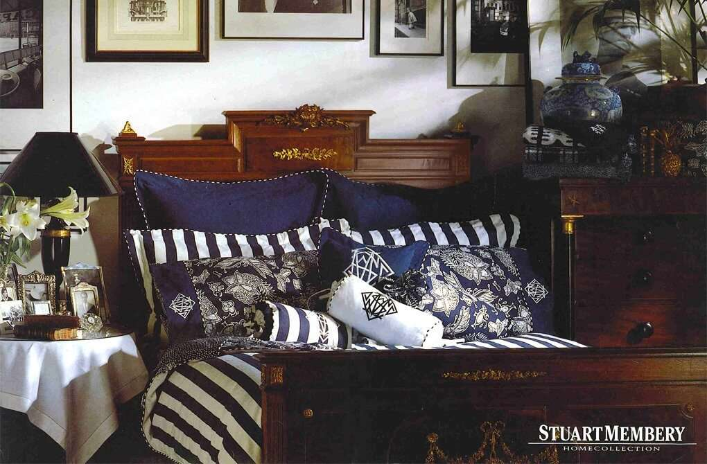 BED & BATH BED - STUART MEMBERY HOME COLLECTION