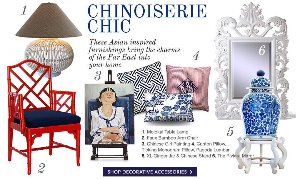 CHINOISERIE CHIC - STUART MEMBERY HOME COLLECTION