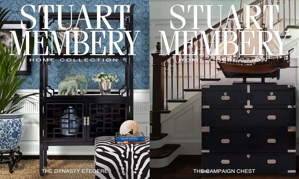 DYNASTY DISPLAY CABINET CAMPAIGN CHEST - STUART MEMBERY HOME COLLECTION