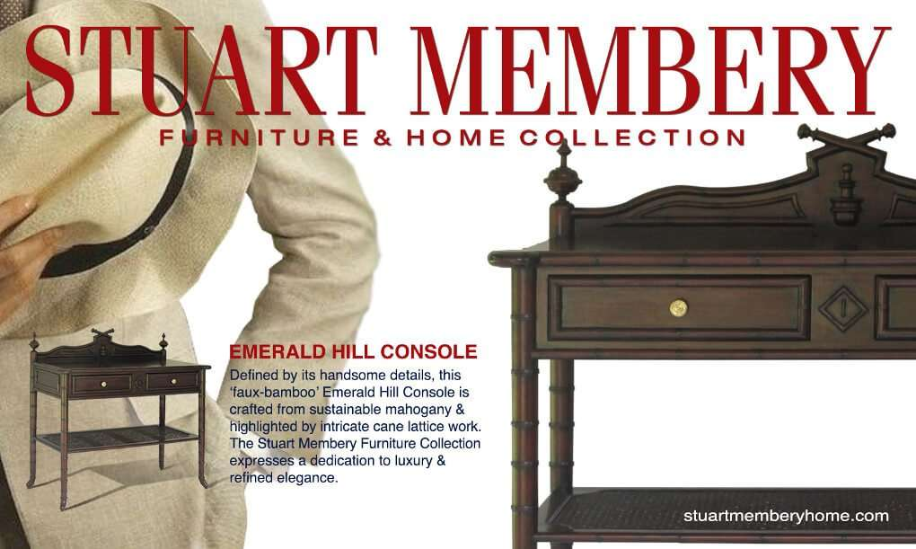 EMERALD HILL CONSOLE - STUART MEMBERY HOME COLLECTION