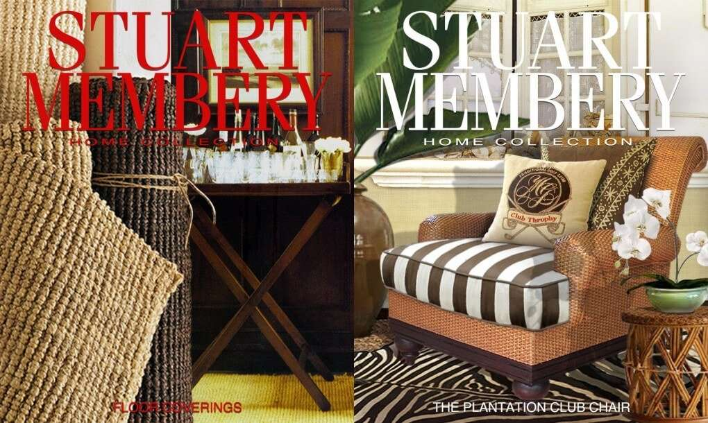 FLOOR COVERINGS PLANTATION CLUB CHAIR - STUART MEMBERY HOME COLLECTION